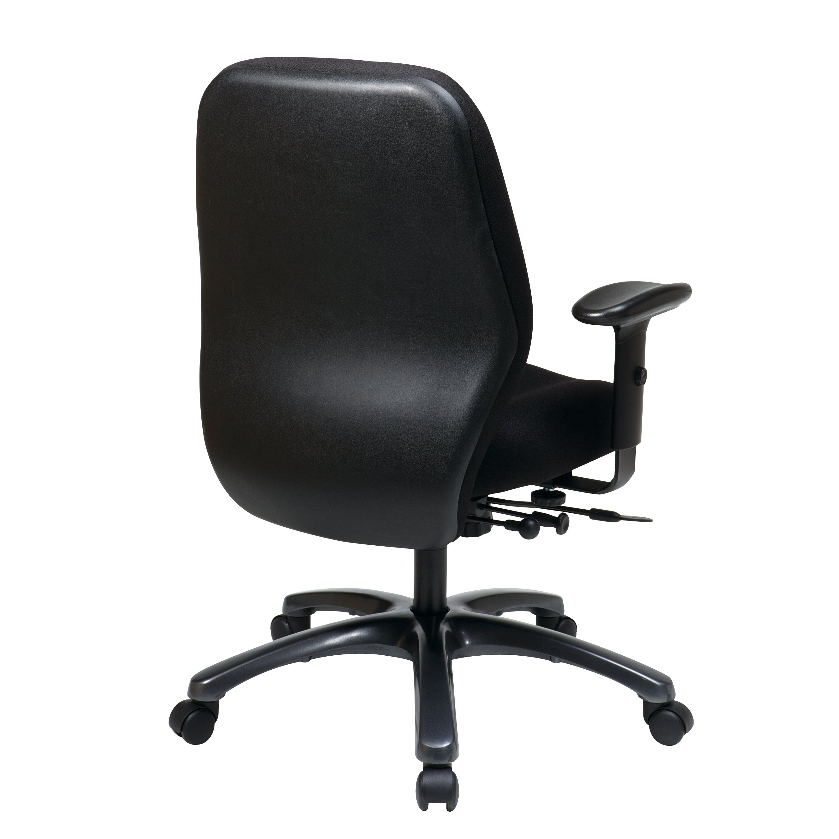 Office Desk Chair Reviews Space Mid Back Mesh
