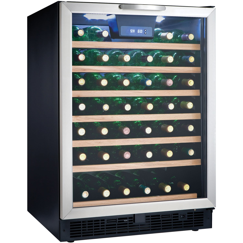 Danby 50 Bottle Single Zone Built In And Freestanding Wine
