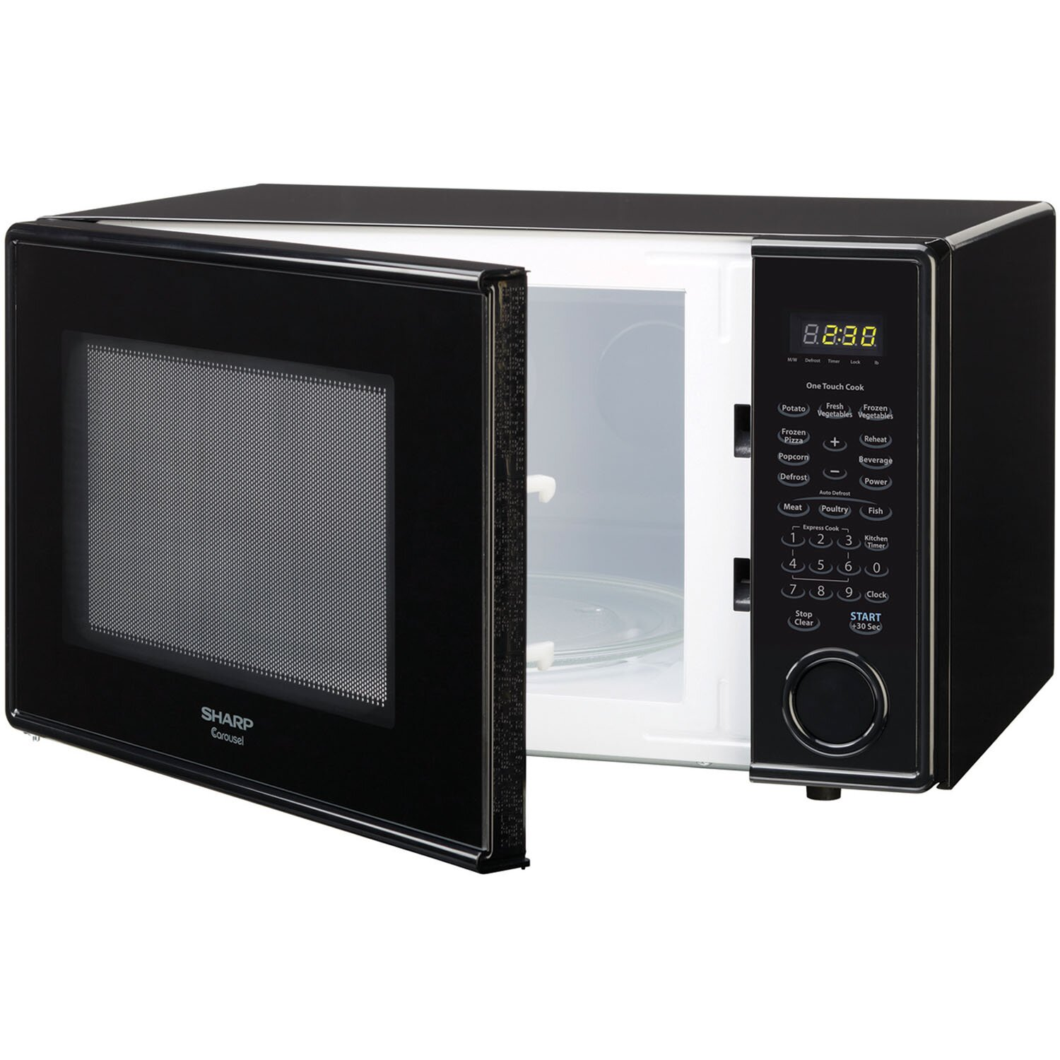 Sharp 1.1 Cu. Ft. 1000W Countertop Microwave & Reviews Wayfair