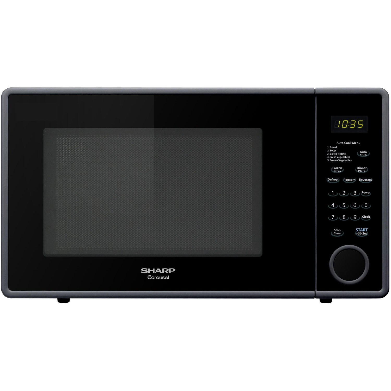 Sharp 11 Cu Ft 1000W Countertop Microwave amp Reviews  : Sharp 11 Cu Ft 1000W Countertop Microwave R 309Y from www.wayfair.com size 1500 x 1500 jpeg 134kB
