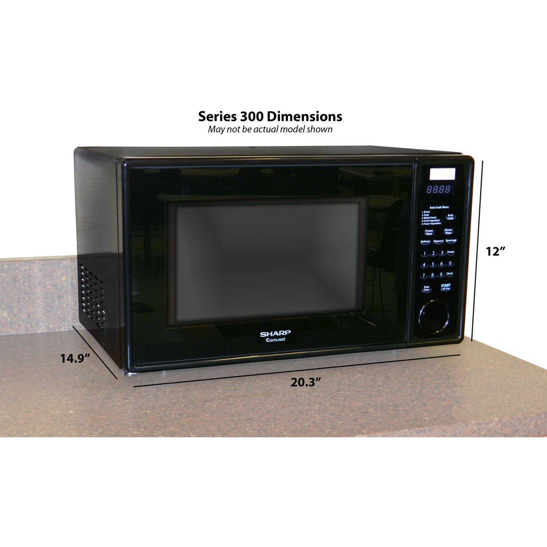 Countertop Microwave Stand : Sharp 1.1 Cu. Ft. 1000W Countertop Microwave & Reviews Wayfair