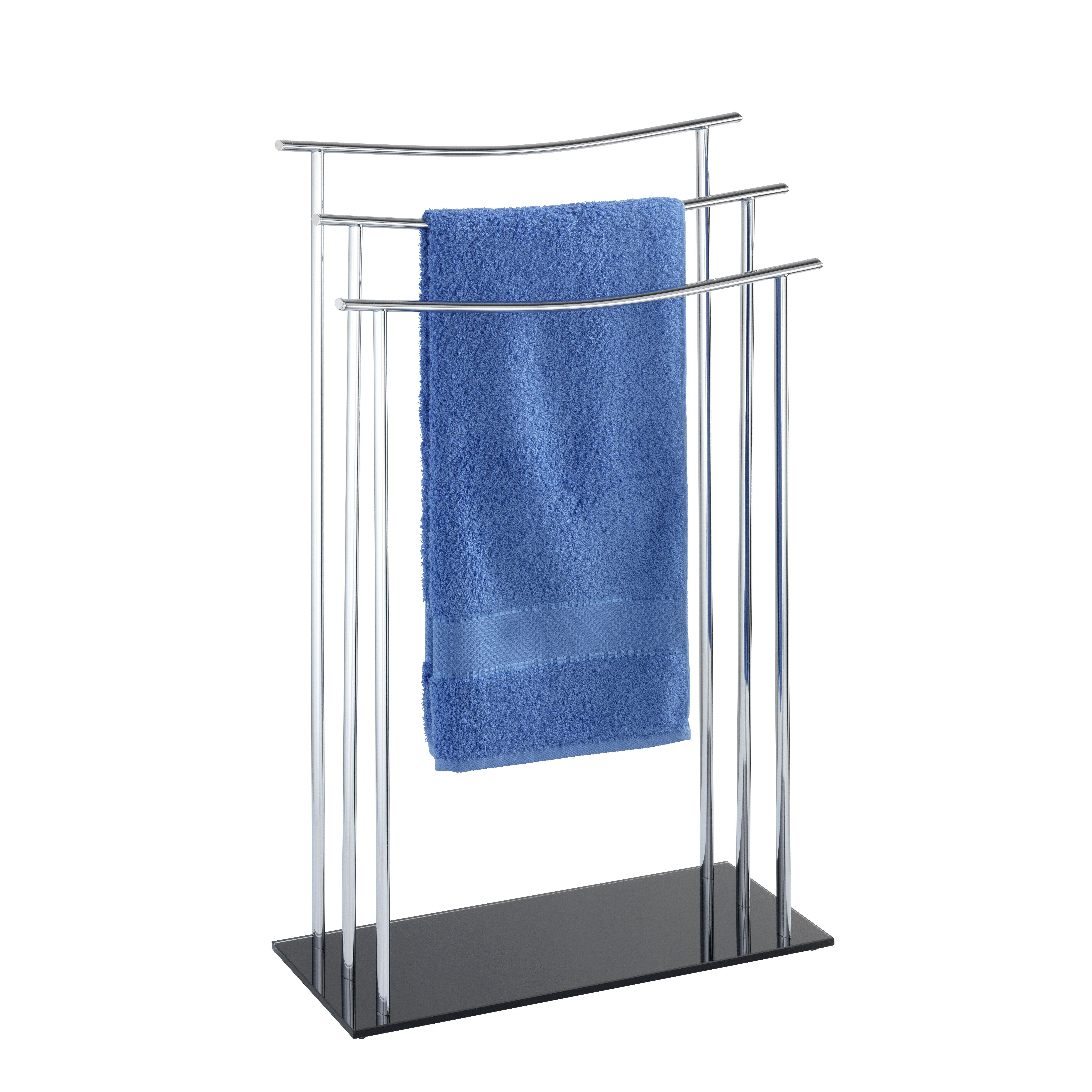 wenko freistehender handtuchhalter bewertungen. Black Bedroom Furniture Sets. Home Design Ideas