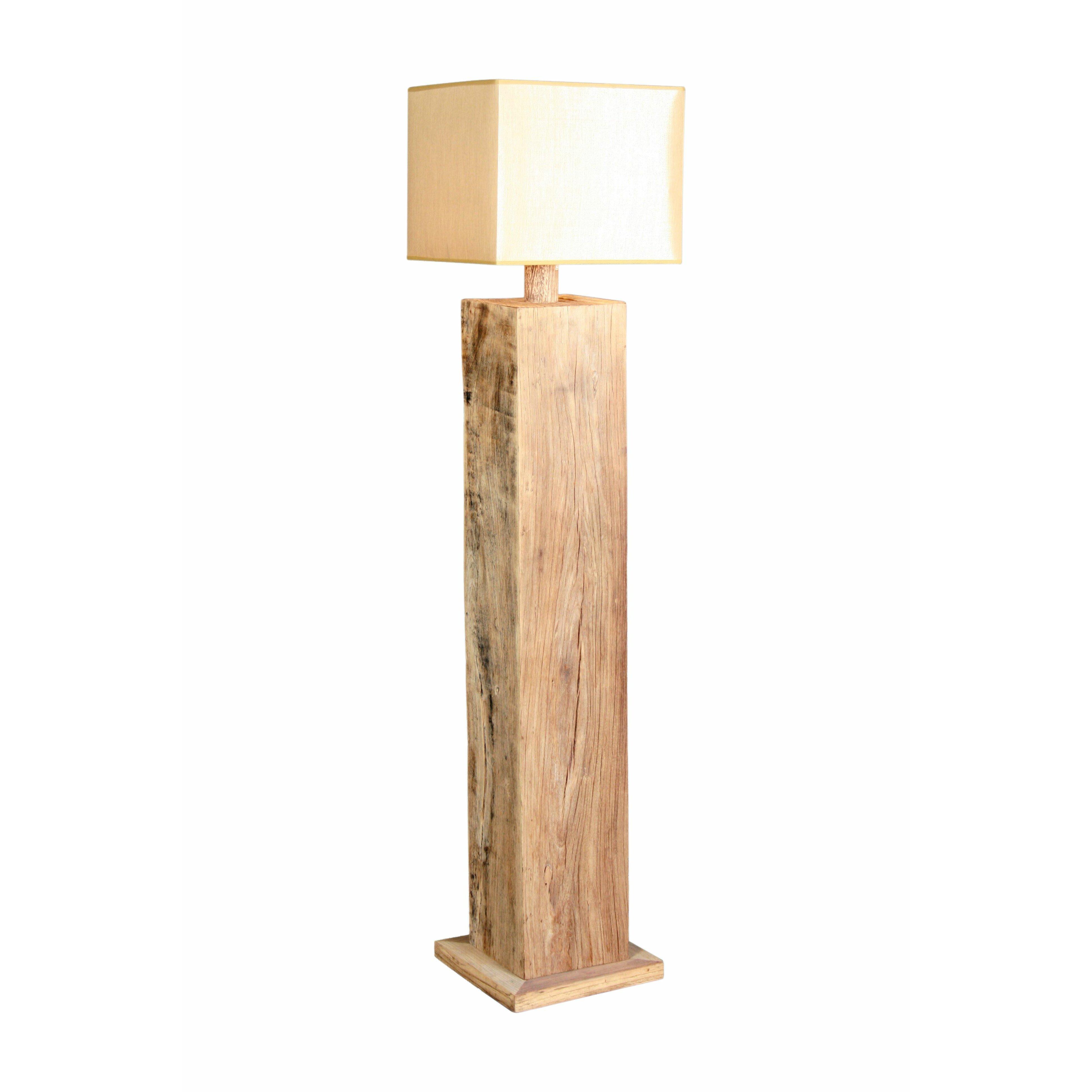 Katigi designs 111cm floor lamp reviews wayfair uk for Wayfair wood floor lamp