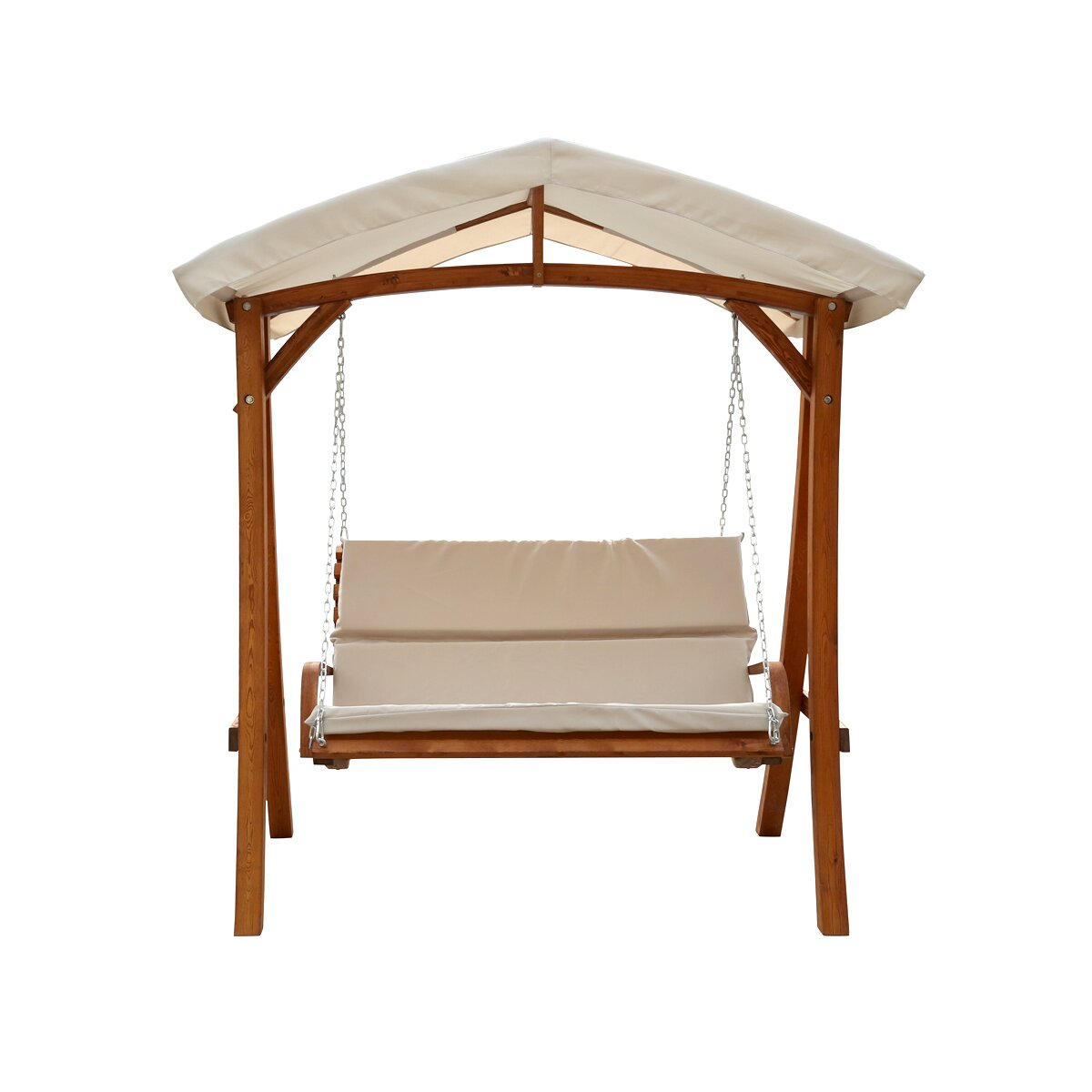 Leisure Season Porch Swing with Canopy & Reviews
