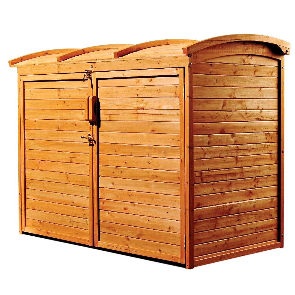 Leisure Season 5 Ft. W x 3 Ft. D Wooden Storage Shed ...