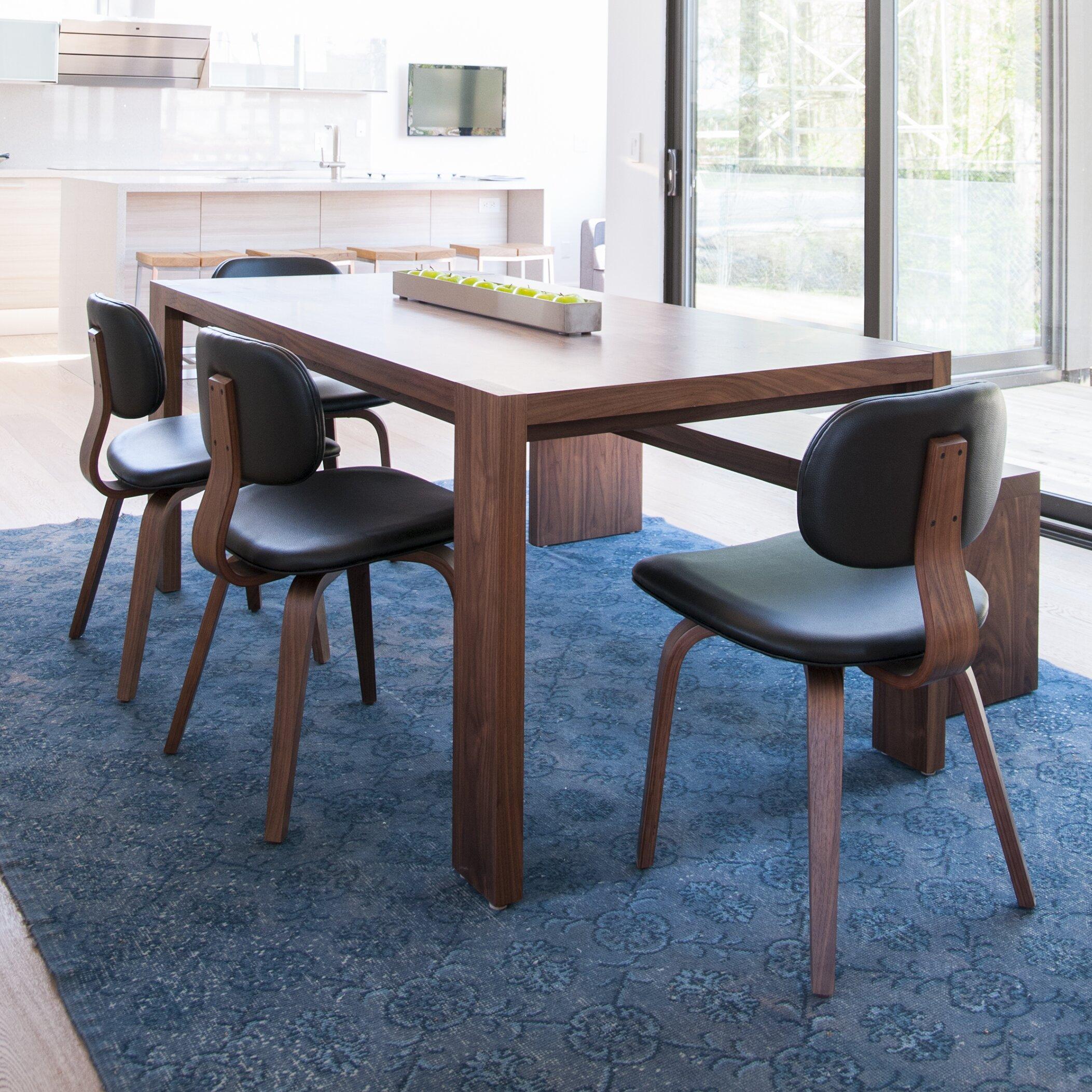 Gus Modern Plank Dining Table Reviews Wayfair
