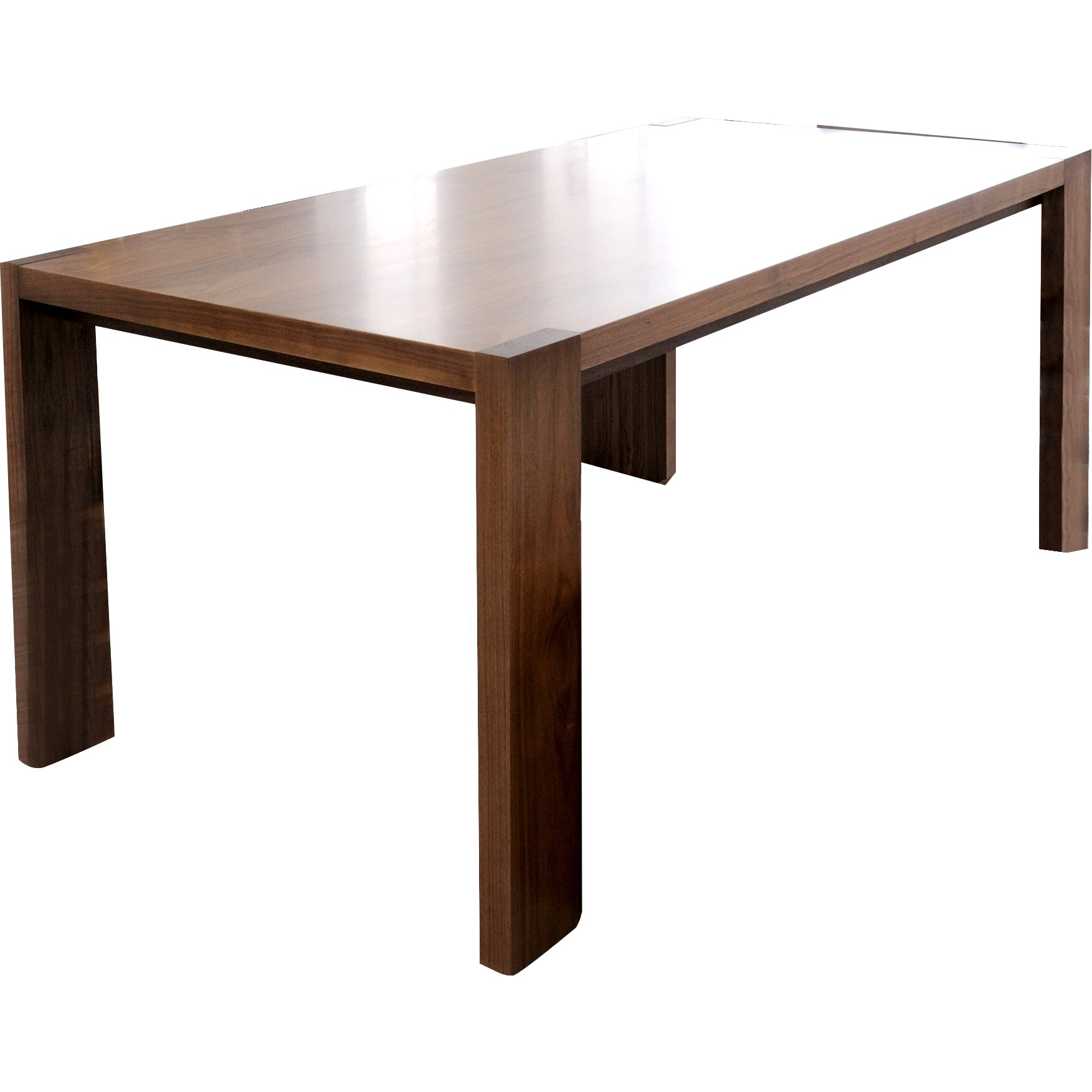Plank Dining Table ~ Gus modern plank dining table reviews wayfair