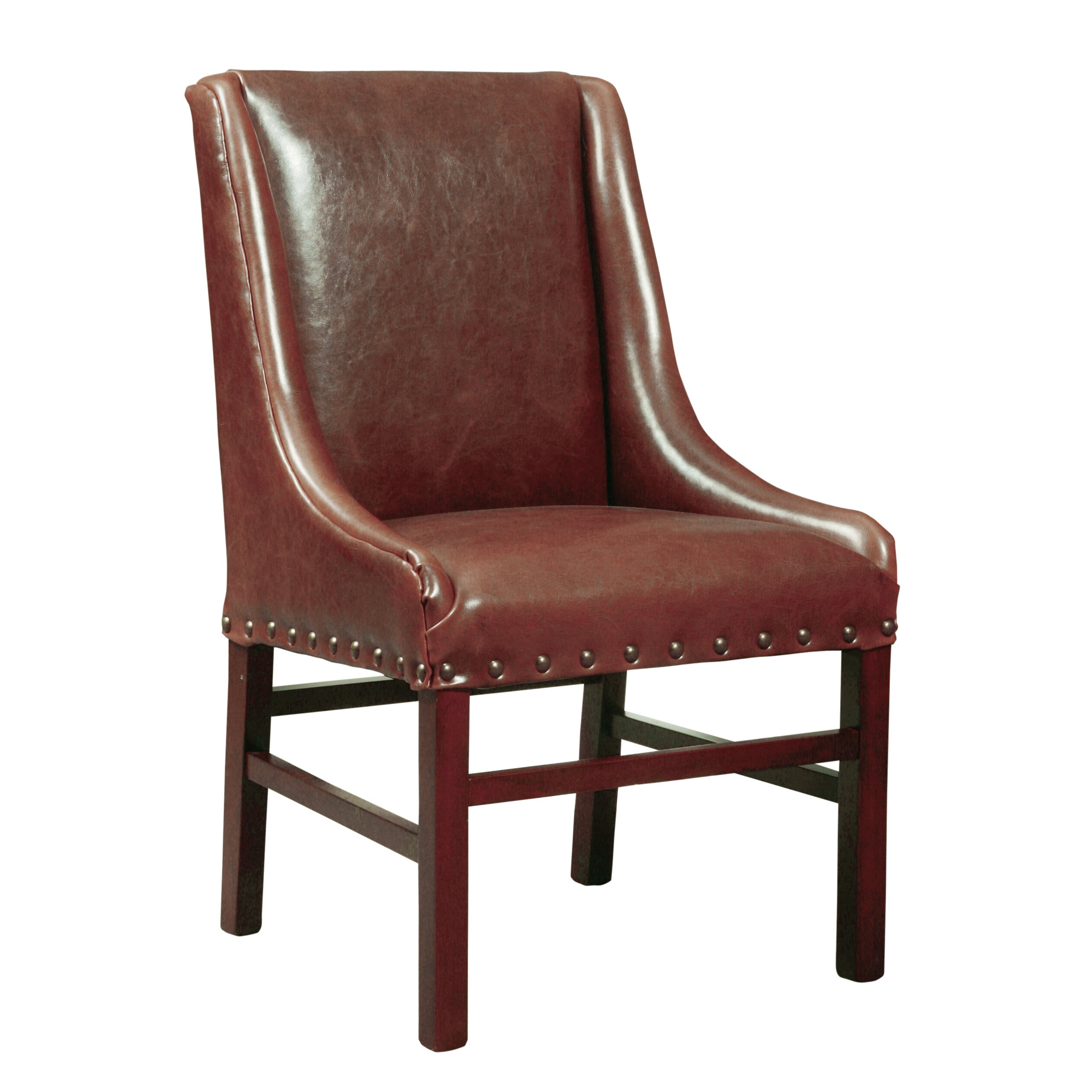 Furniture Classics Ltd Low Leather Desk Chair Wayfair