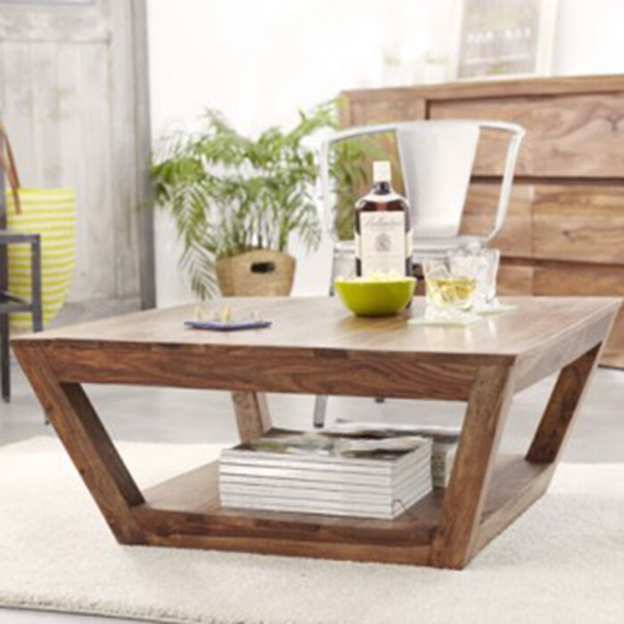 tikamoon villa coffee table with magazine rack reviews wayfair uk. Black Bedroom Furniture Sets. Home Design Ideas