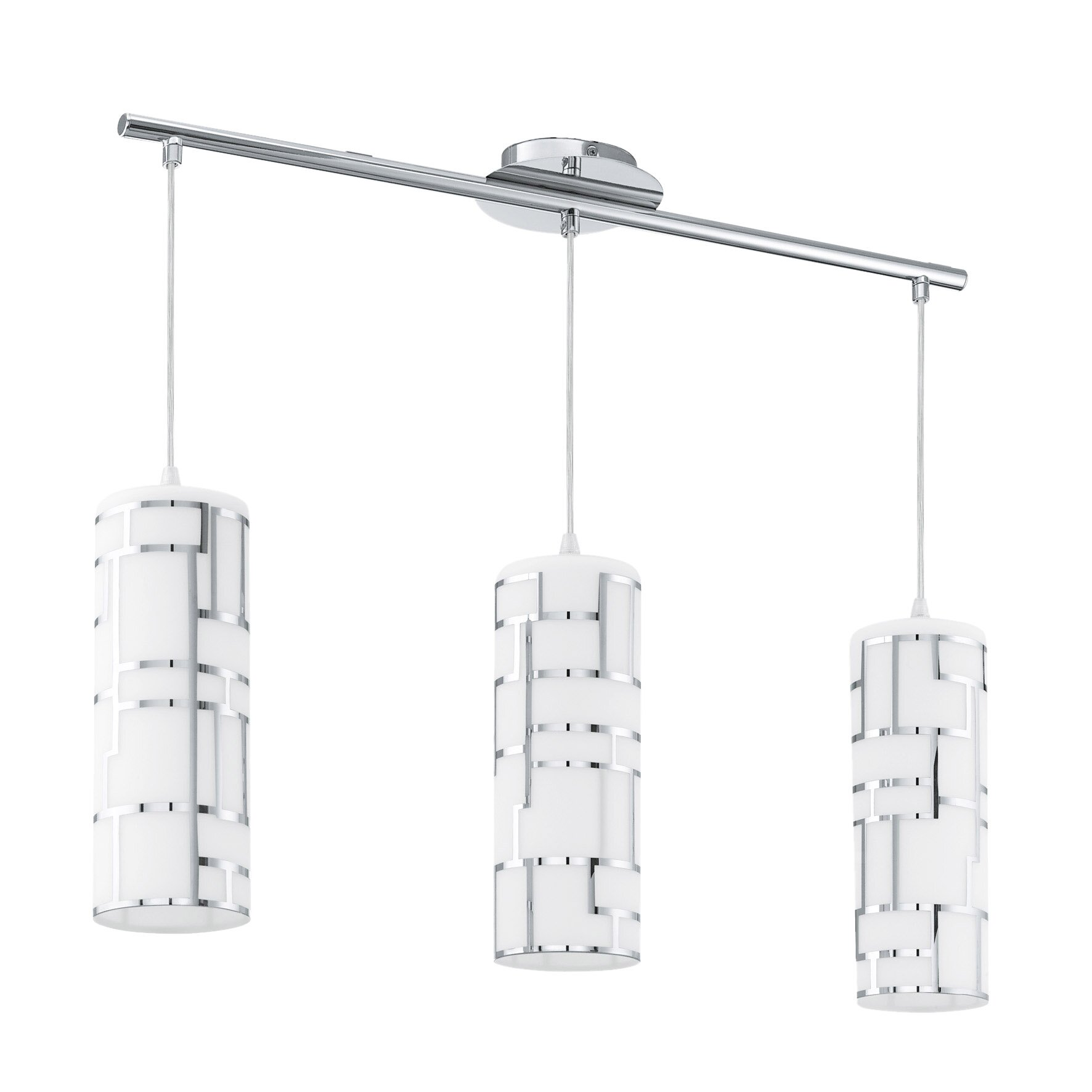Eglo bayman 3 light kitchen island pendant reviews wayfair for 3 light pendant island kitchen lighting