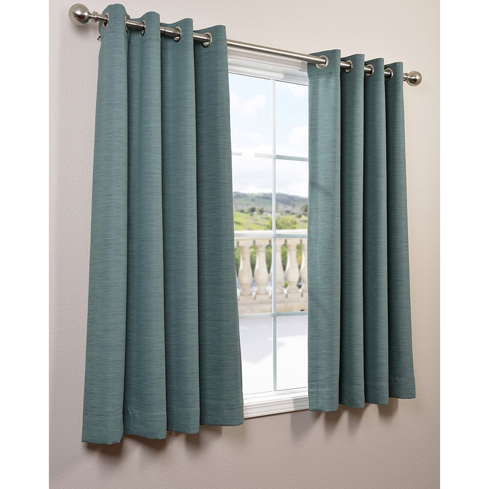 Blackout curtains grommet irongate thermaplus total blackout grommet curtain panels carnivale