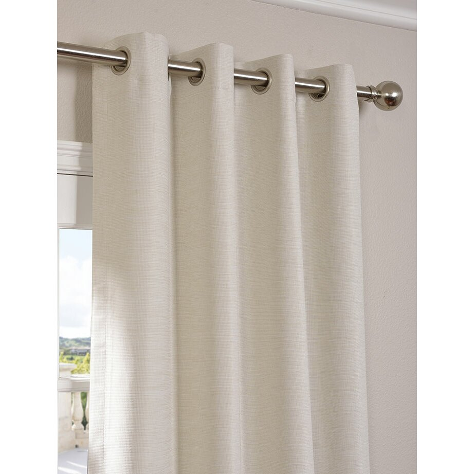 Half Price Drapes Bellino Grommet Single Panel Blackout