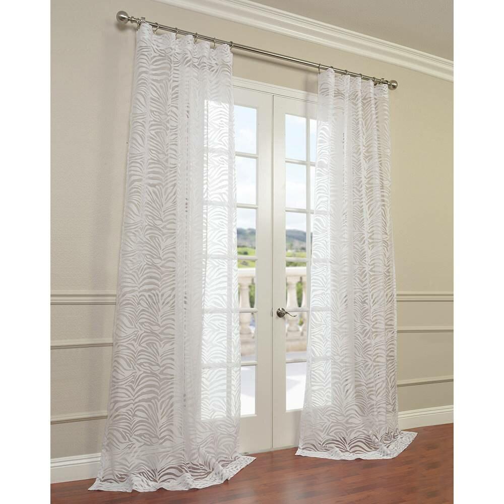 Halfpriced Drapes: Half Price Drapes Zara Semi-Opaque Curtain Panel
