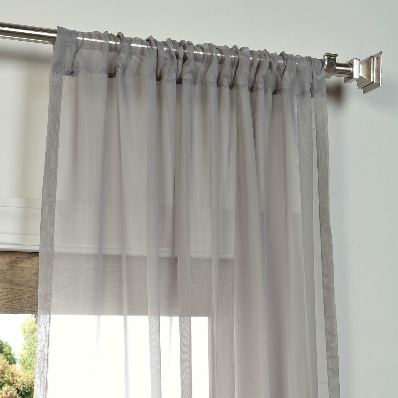 Halfpriced Drapes: Half Price Drapes Sweden Semi-Opaque Curtain Panel