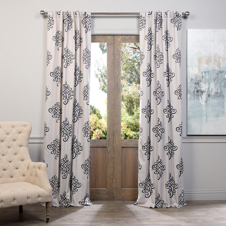 Halfpriced Drapes: Half Price Drapes Tugra Blackout Single Curtain Panel
