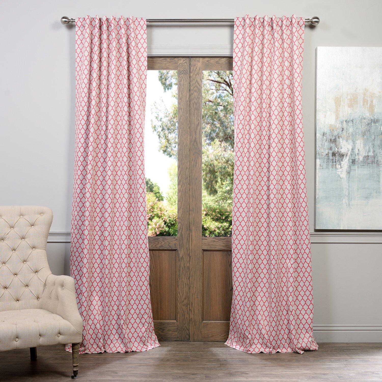 Halfpriced Drapes: Half Price Drapes Casablanca Blackout Single Curtain Panel