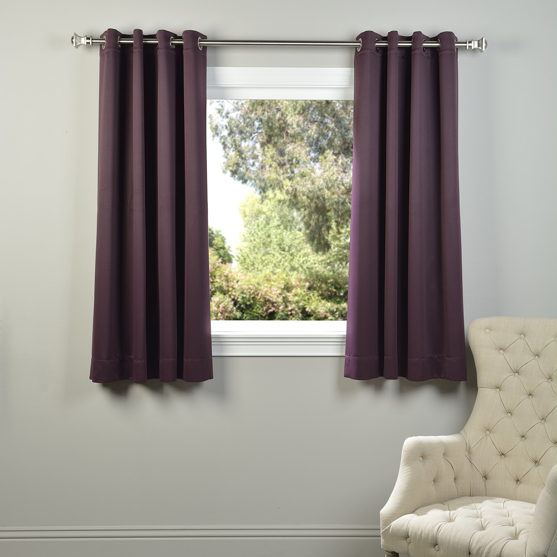 Halfpriced Drapes: Half Price Drapes Plush Grommet Blackout Thermal Curtain