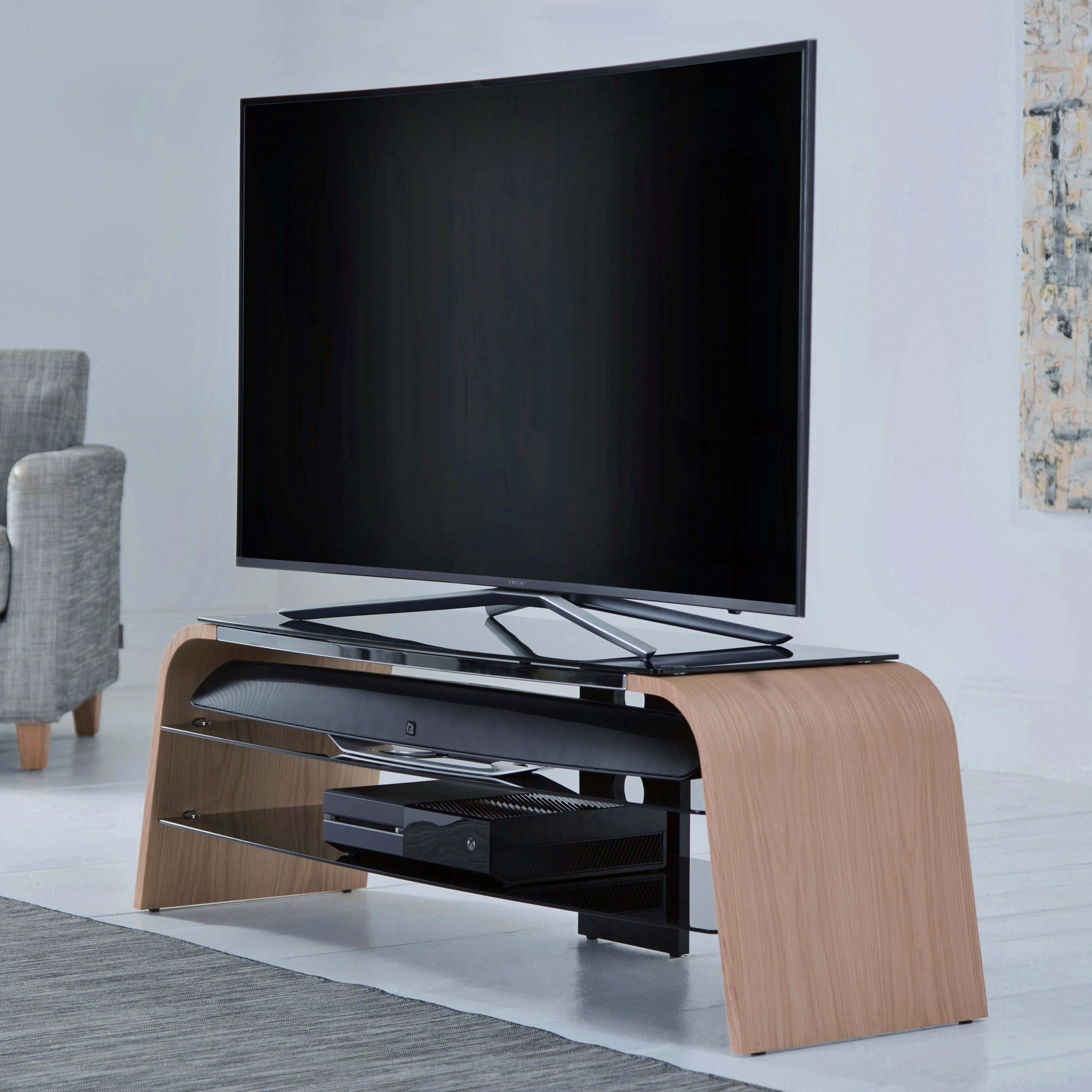 Alphason Design First Spectrum 1200 TV Stand For TVs Up To
