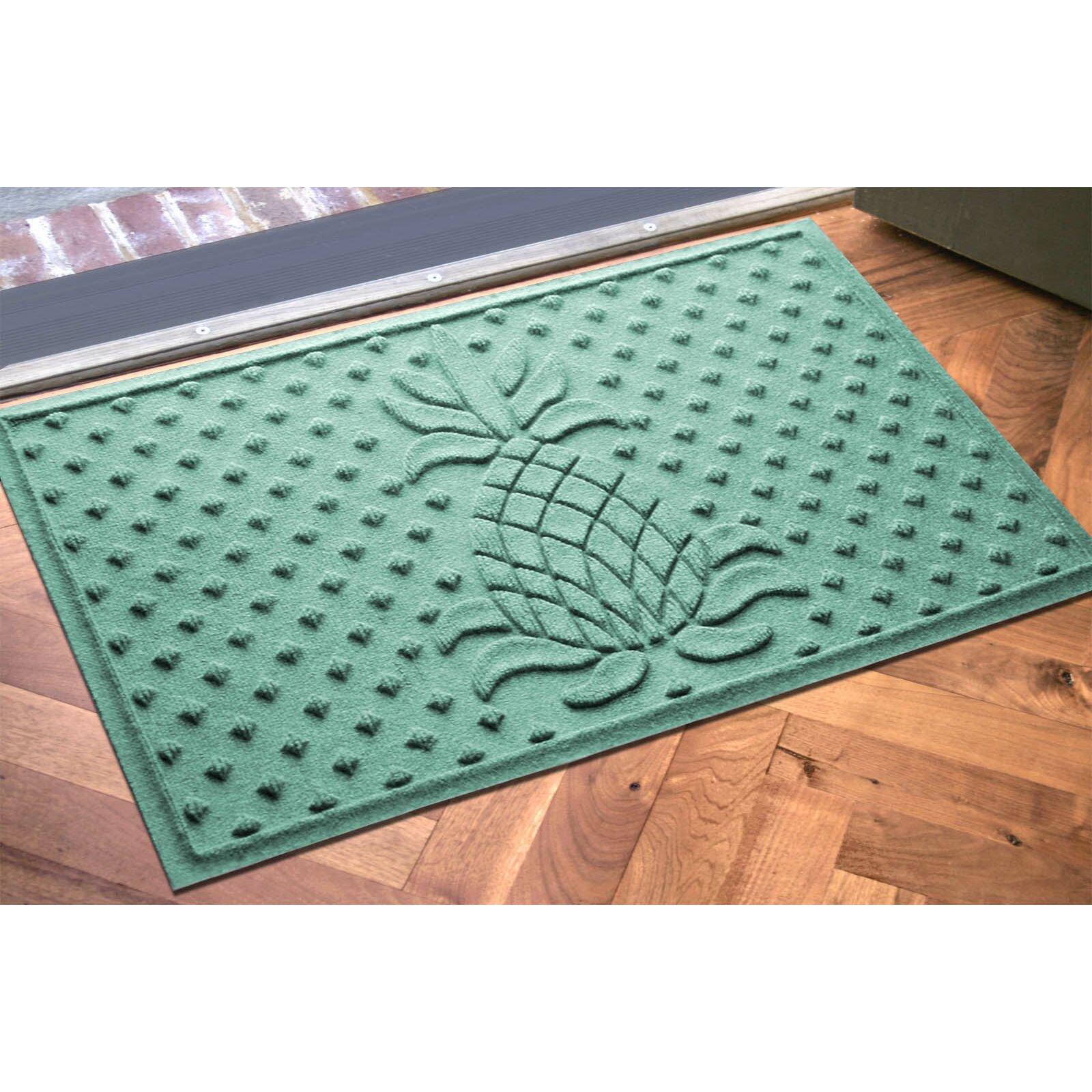 Bungalow Flooring Aqua Shield Diamond Pineapple Doormat