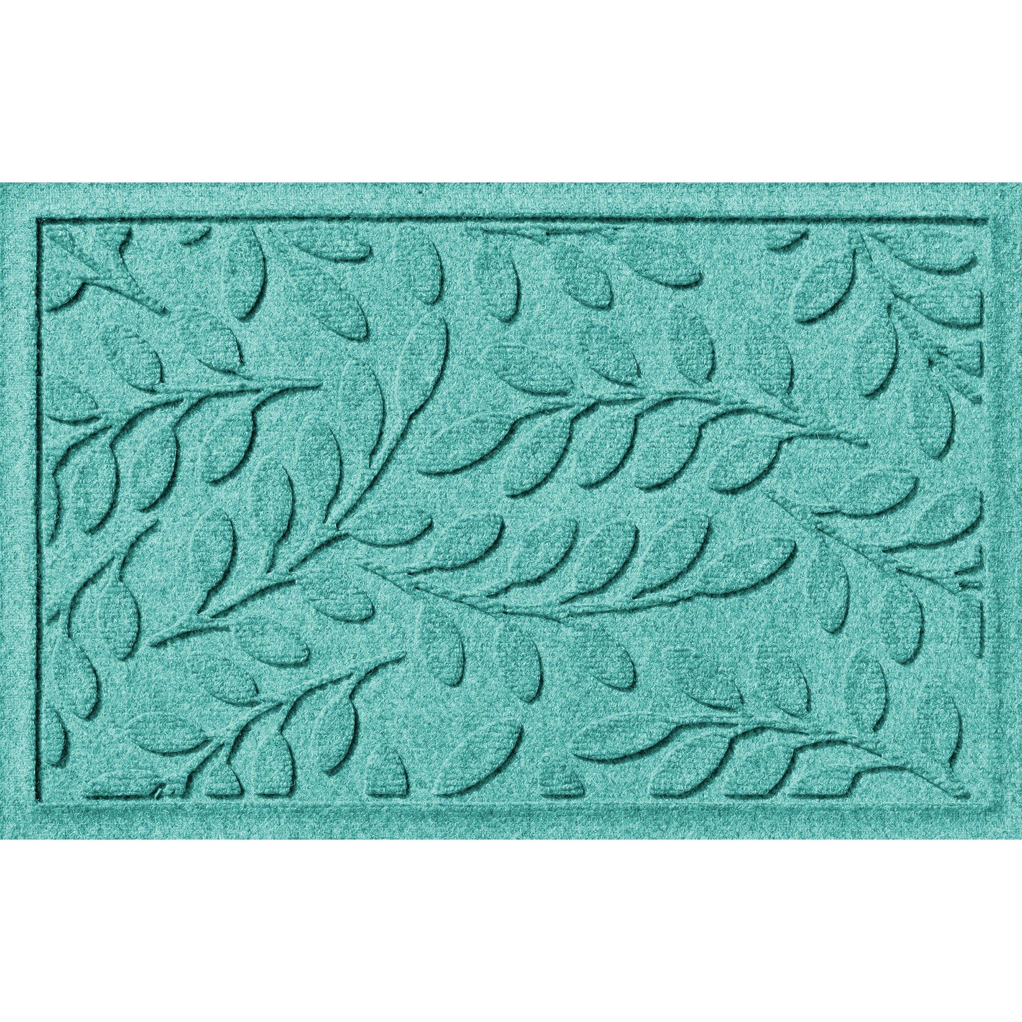 Bungalow Flooring Aqua Shield Brittany Leaf Doormat