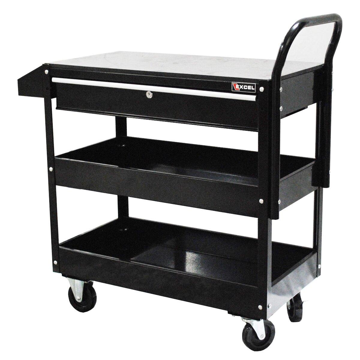 Metal Utility Cart: Excel Metal Utility Cart & Reviews