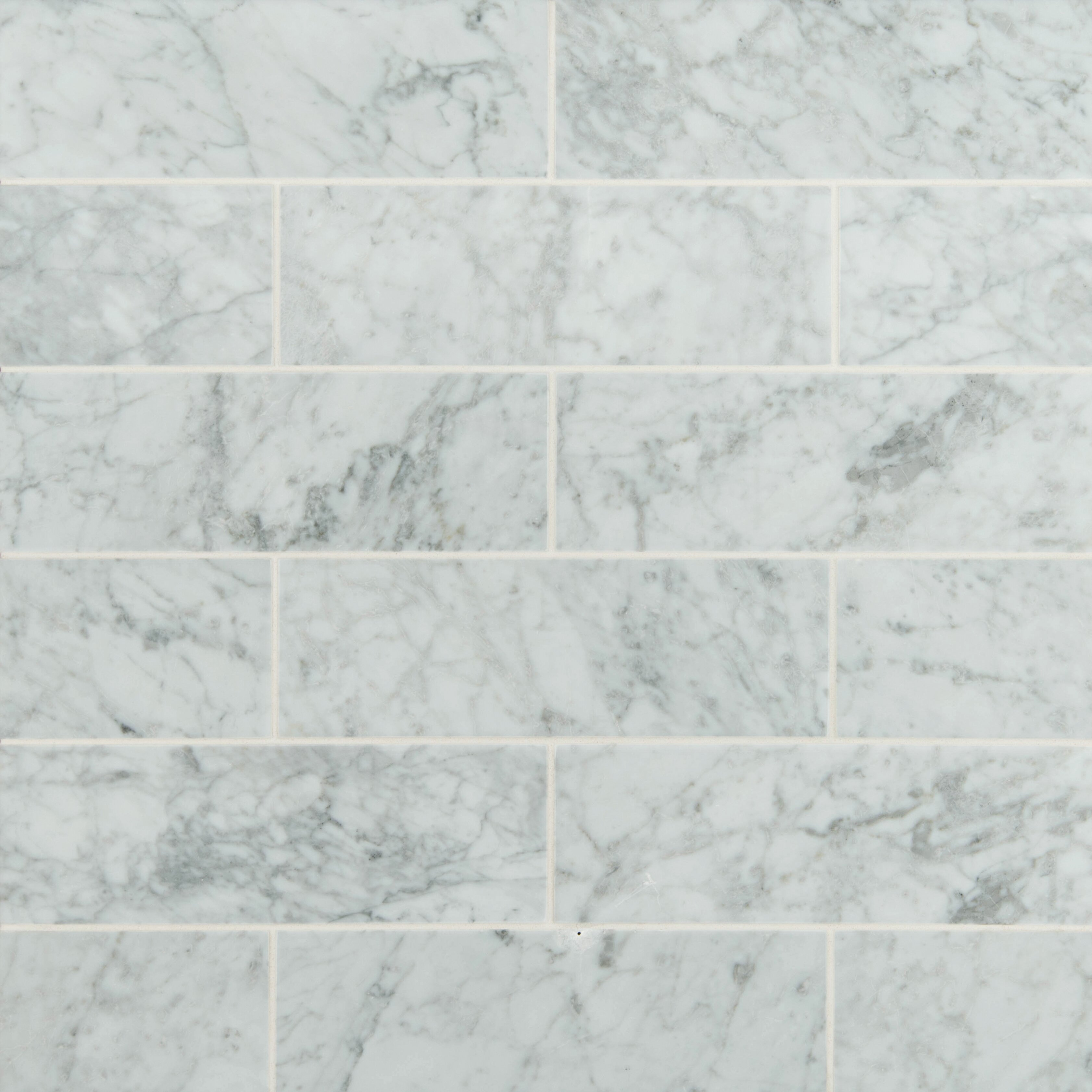 Msi 4 x 12 honed marble tile in arabescato carrara for How to hone marble