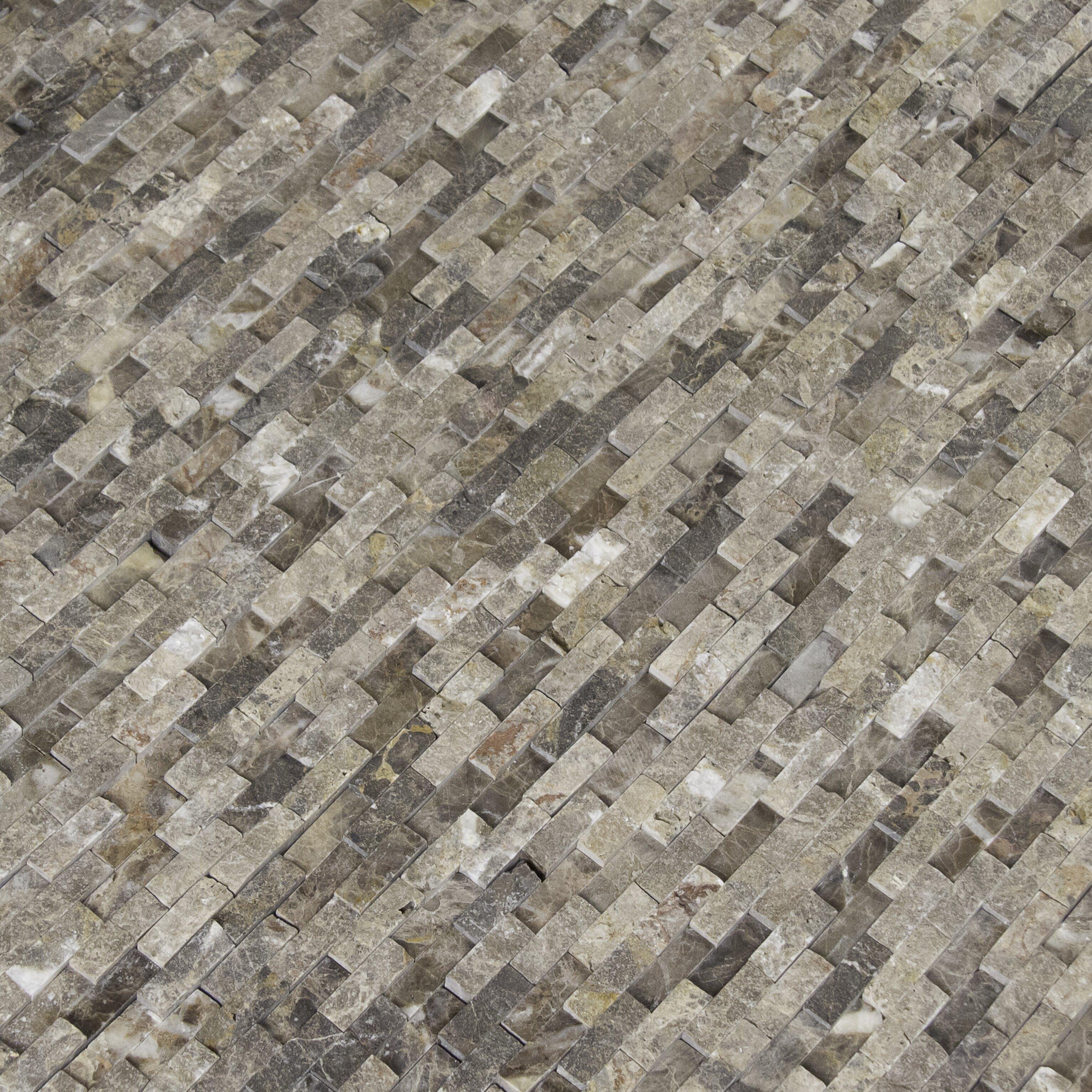 Msi Emperador 12 39 39 X 12 39 39 Marble Splitface Tile In Brown