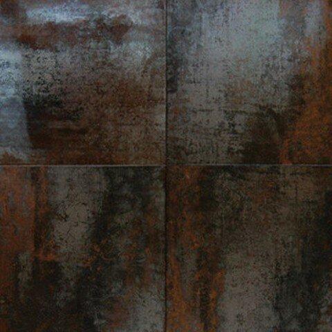 Msi Nickel Antares 16 Quot X 24 Quot Porcelain Metal Tile In Brown