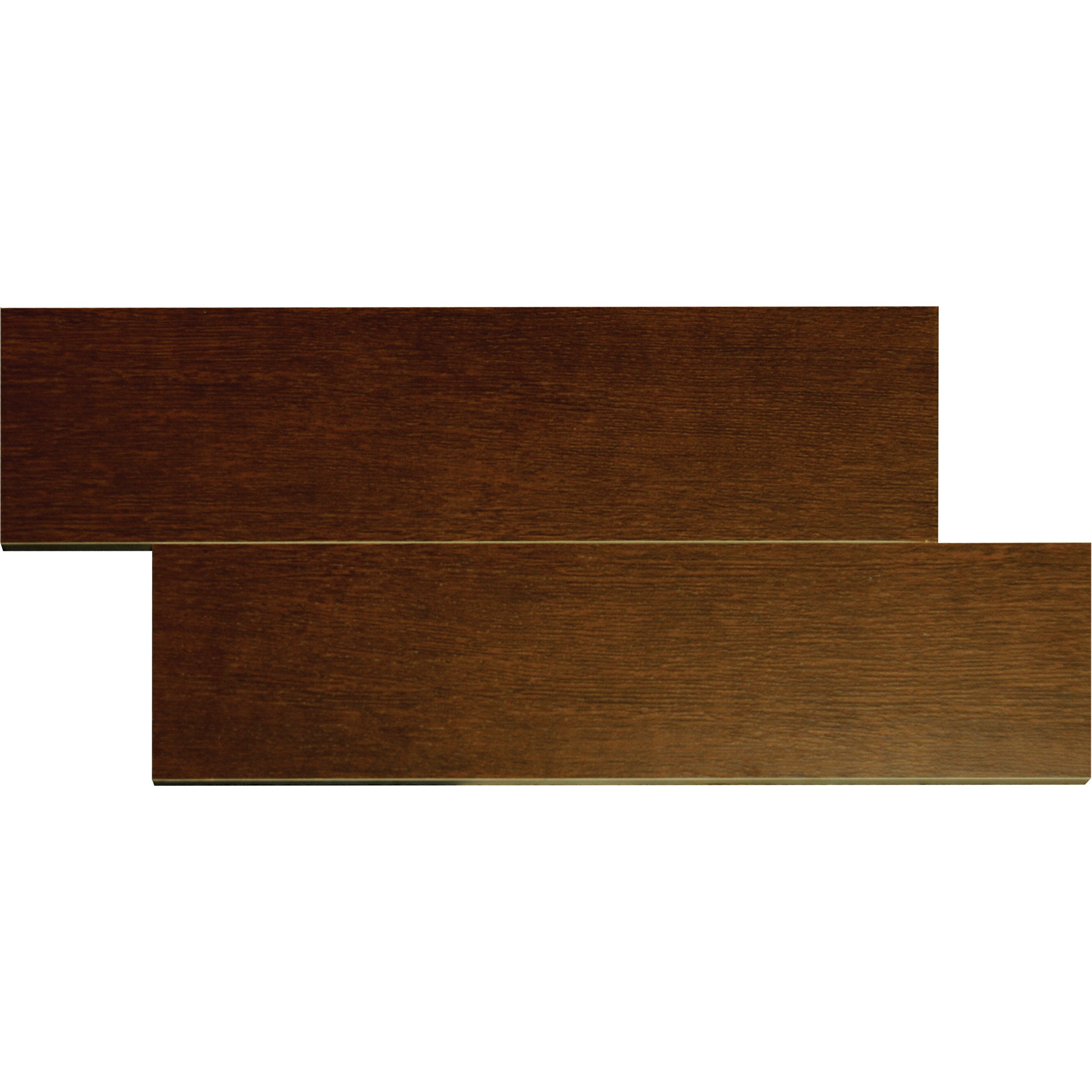 "MSI Wood Stone 6"" x 24"" Ceramic Wood Look Tile in Mahogany & Reviews"