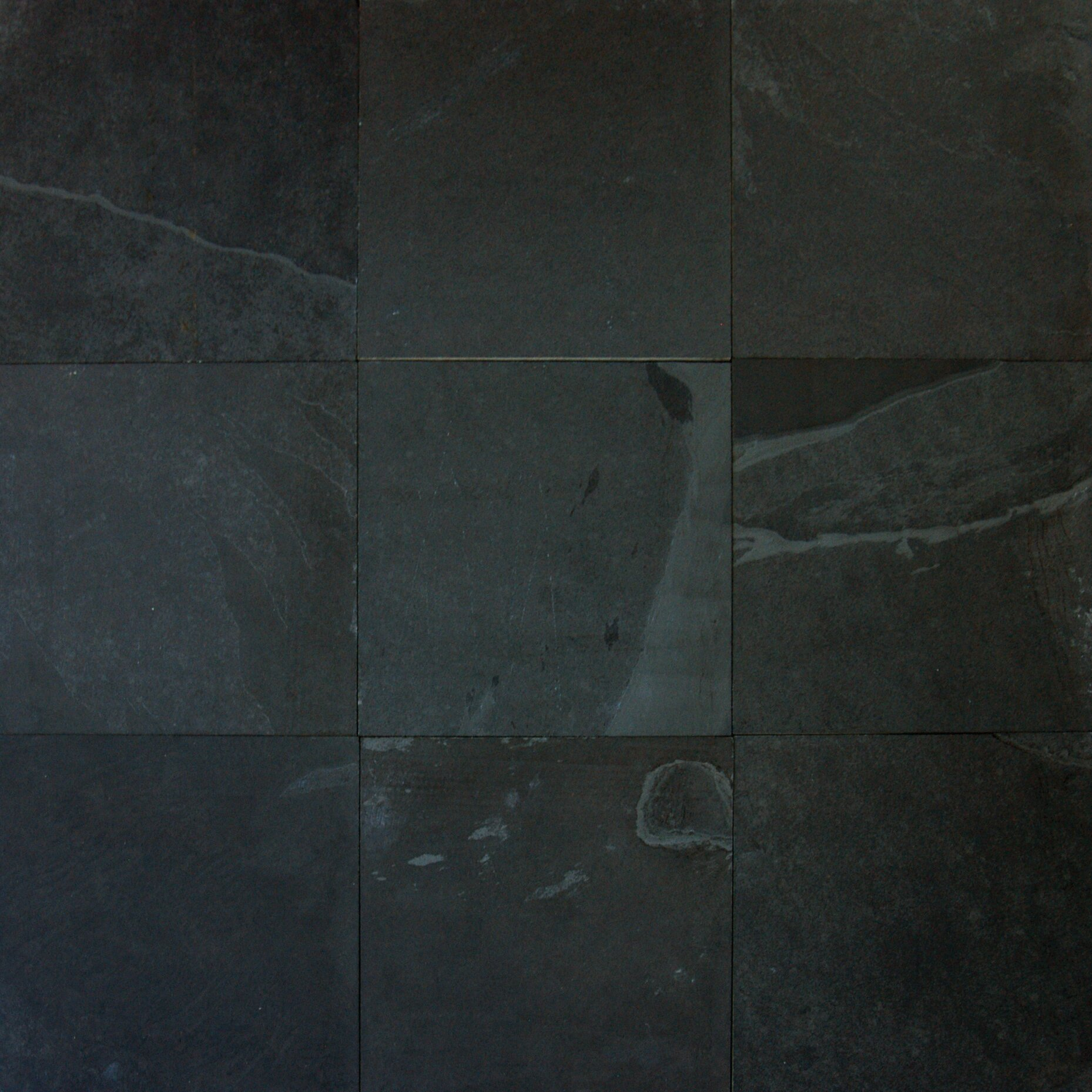 Black Slate Kitchen Tiles: MSI Montauk 12'' X 12'' Slate Field Tile In Black