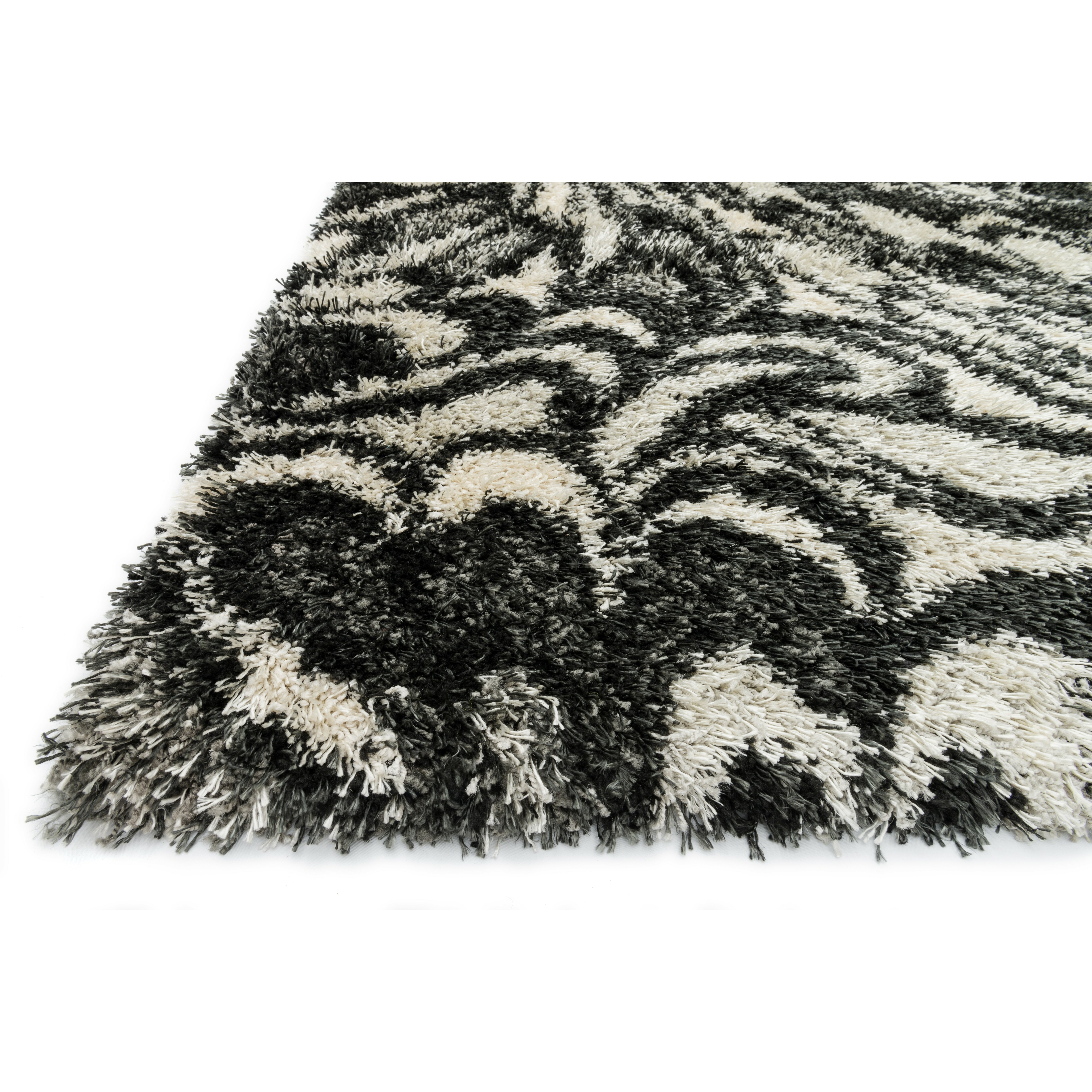 Loloi Rugs Cosma Charcoal Ivory Rug Amp Reviews Wayfair