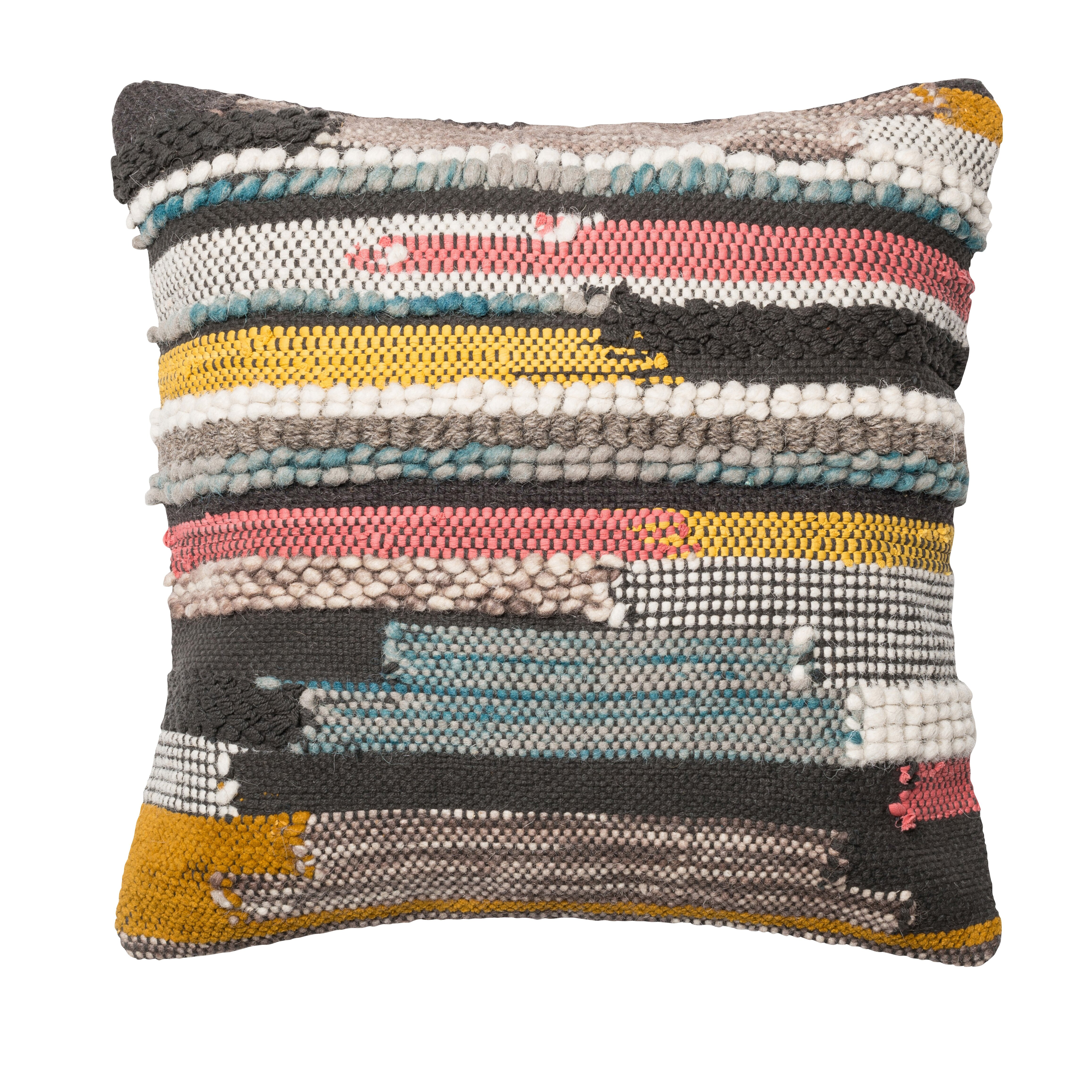 Throw Pillows Textured : Loloi Rugs Textured Cotton Throw Pillow & Reviews Wayfair
