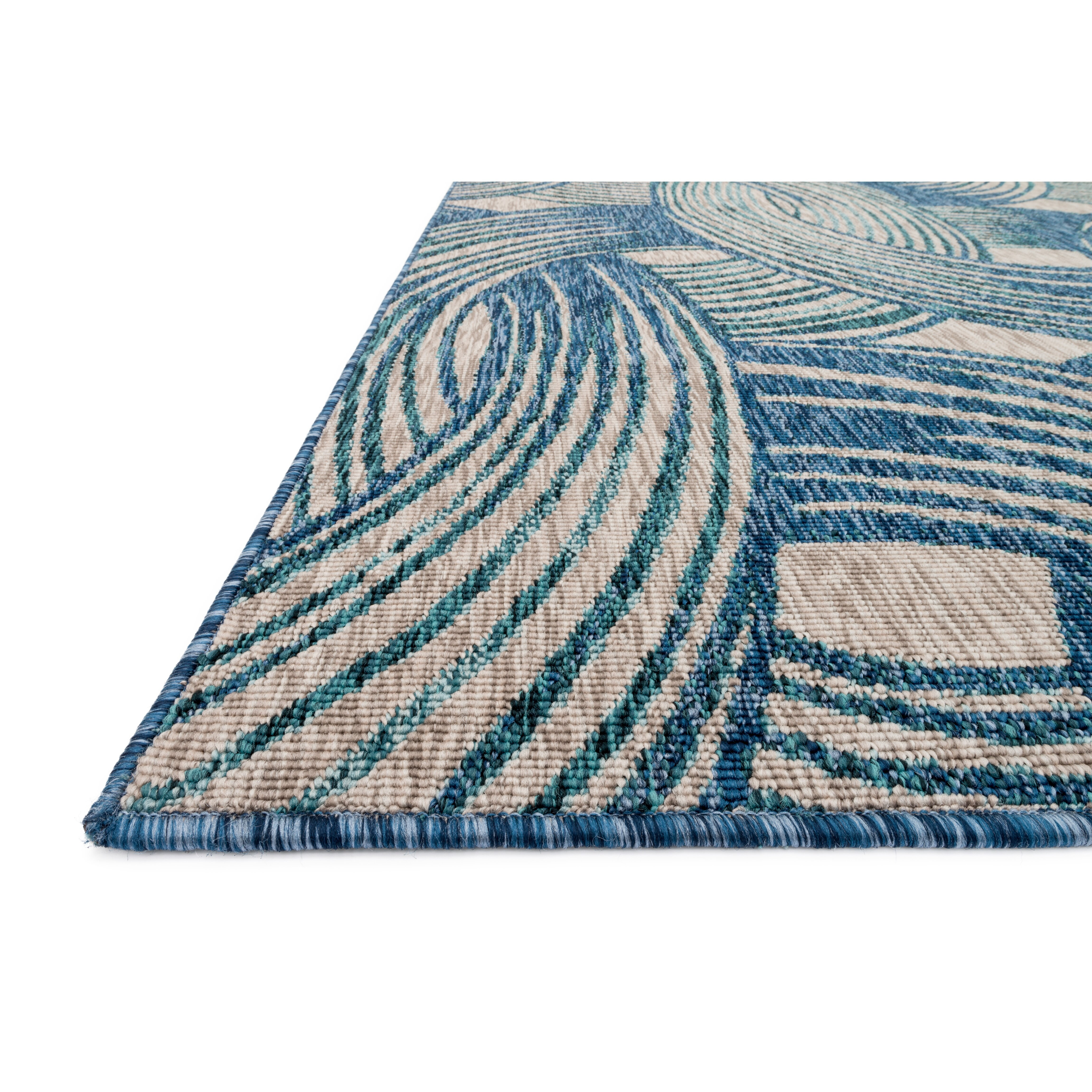 Loloi Rugs Newport Blue/Teal Area Rug