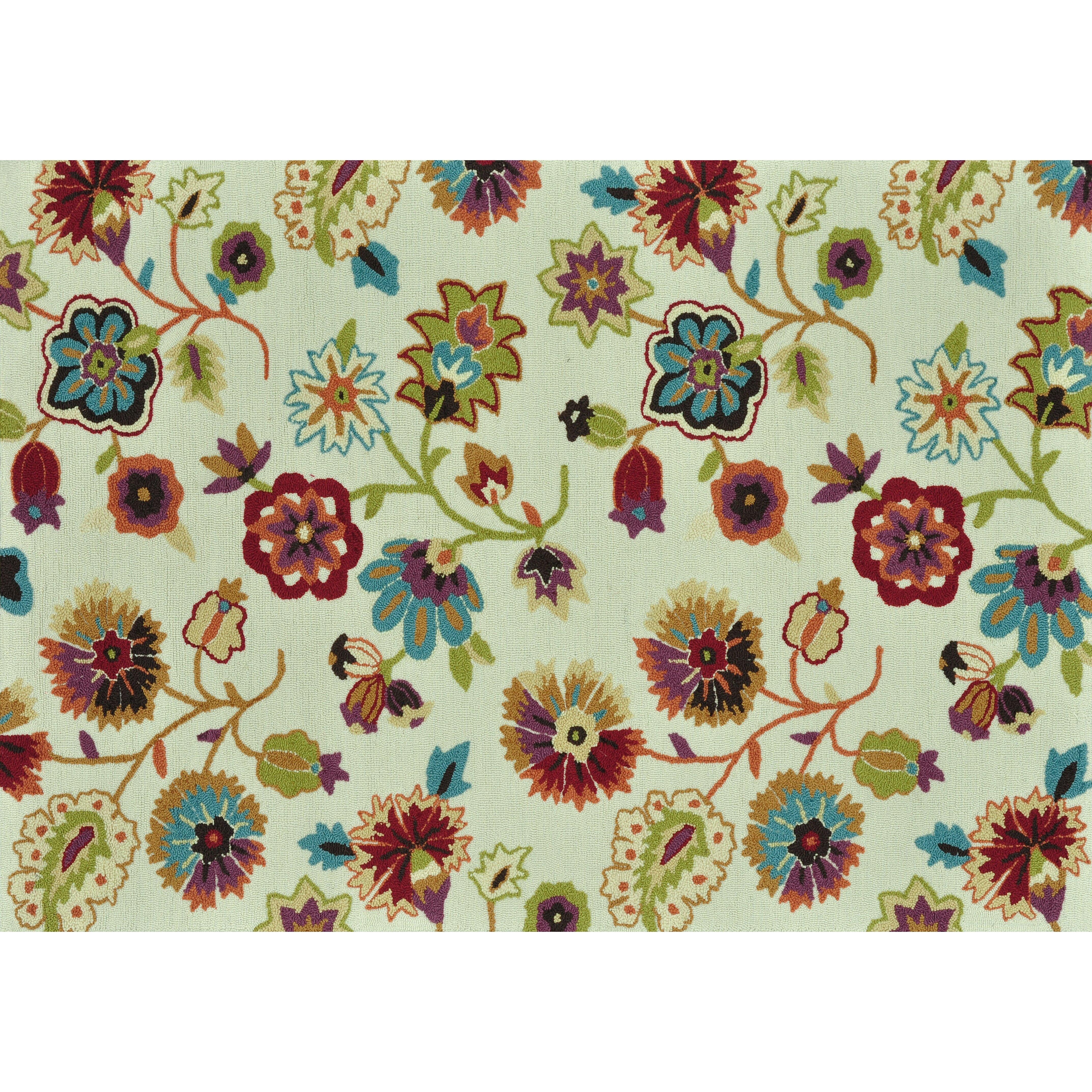 Loloi Rugs Juliana Floral Ivory Area Rug Amp Reviews Wayfair