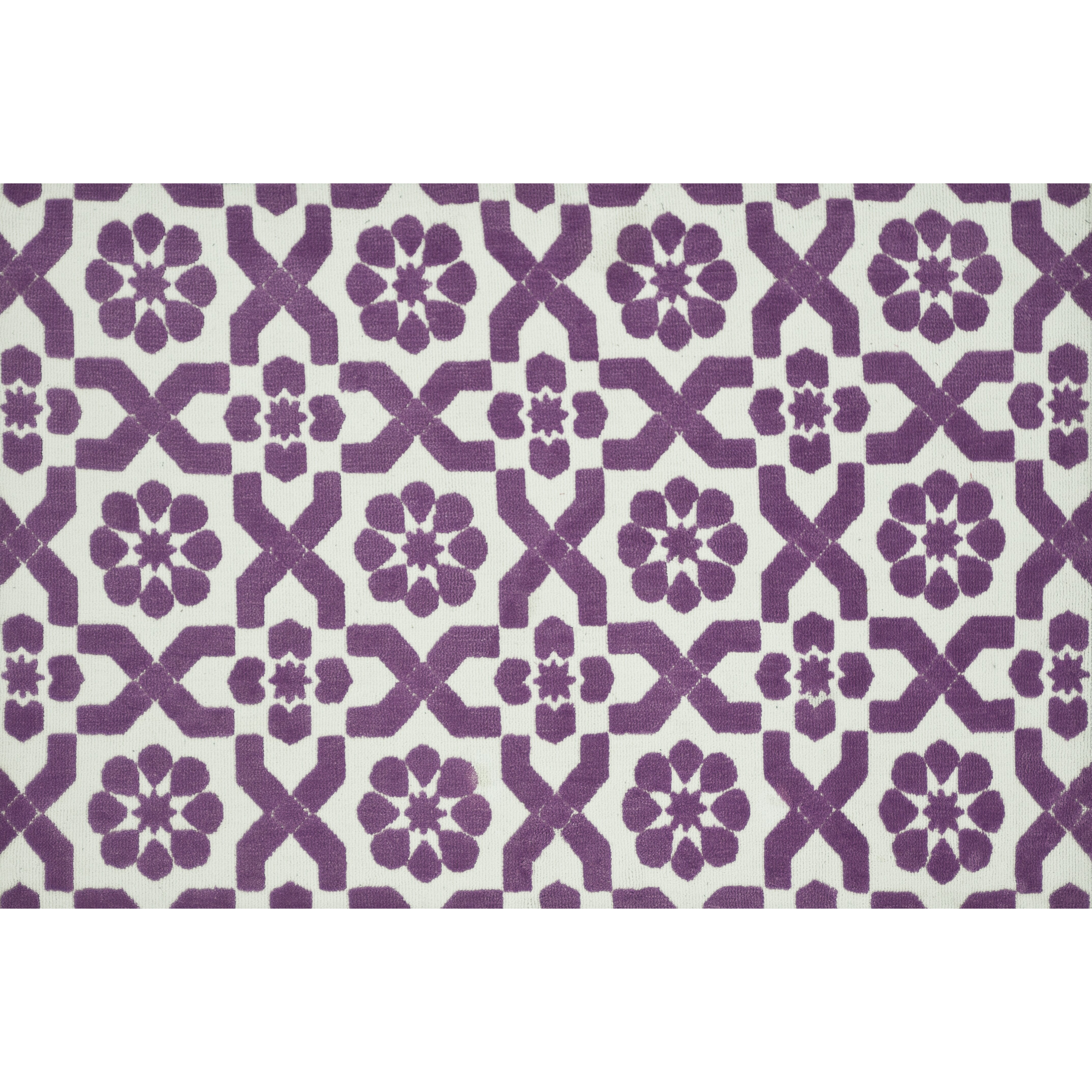 Xl Purple Rug: Loloi Rugs Piper Light Purple/Ivory Fairies Area Rug