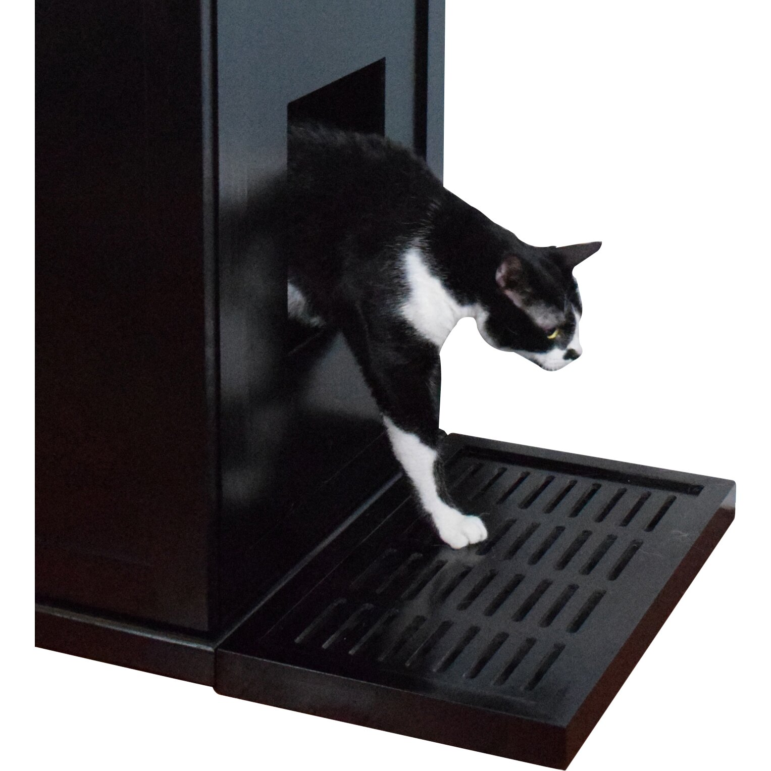 the refined feline litter catch for the refined litter box enclosure arena kitty litter box