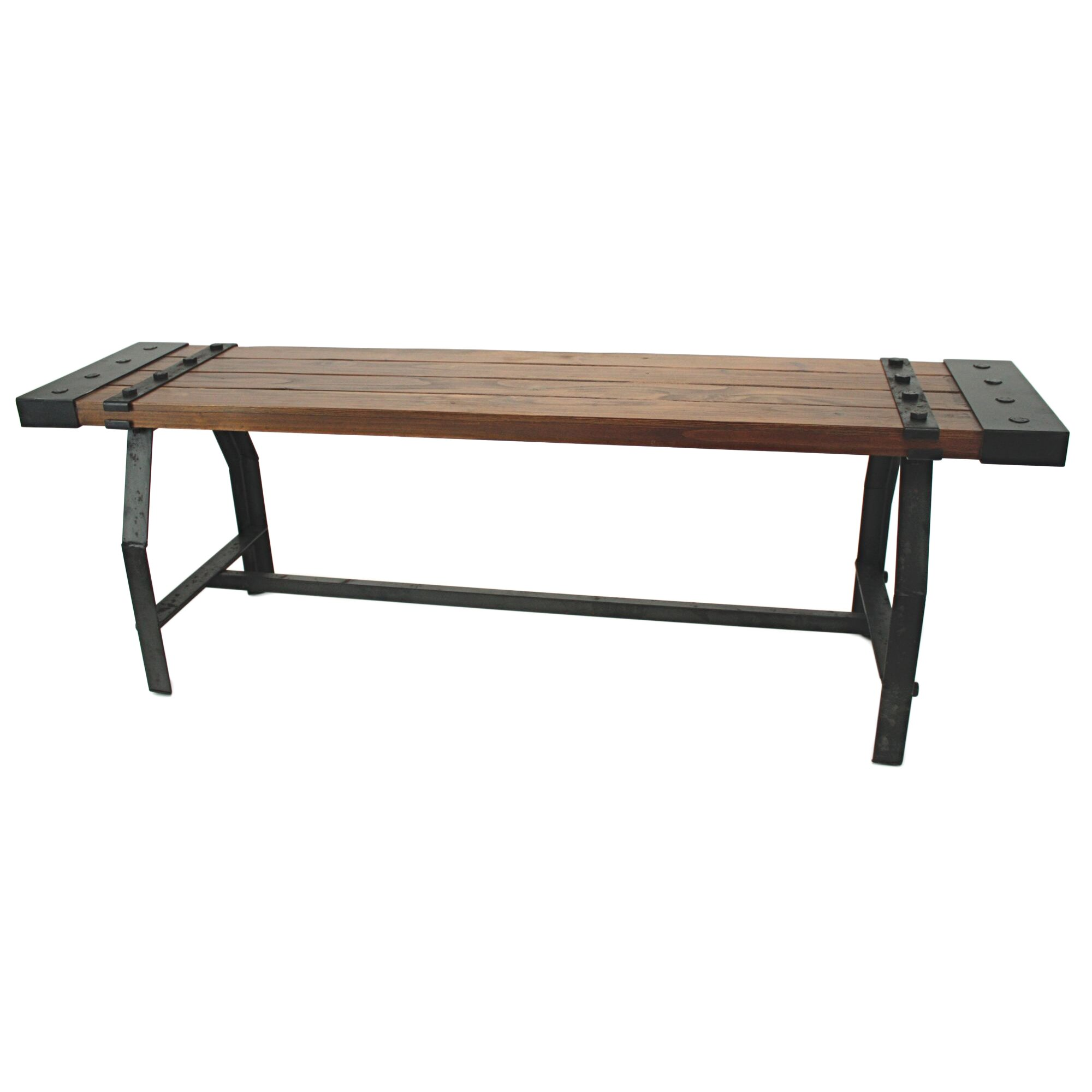 Aspire elkhart wood entryway bench reviews wayfair for Entryway mudroom bench