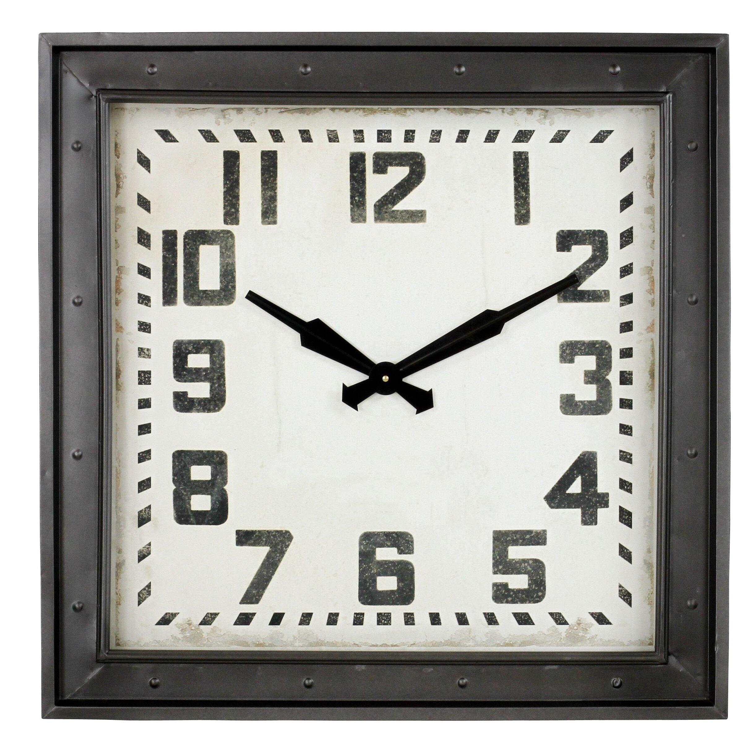 Aspire Westford Square Wall Clock & Reviews