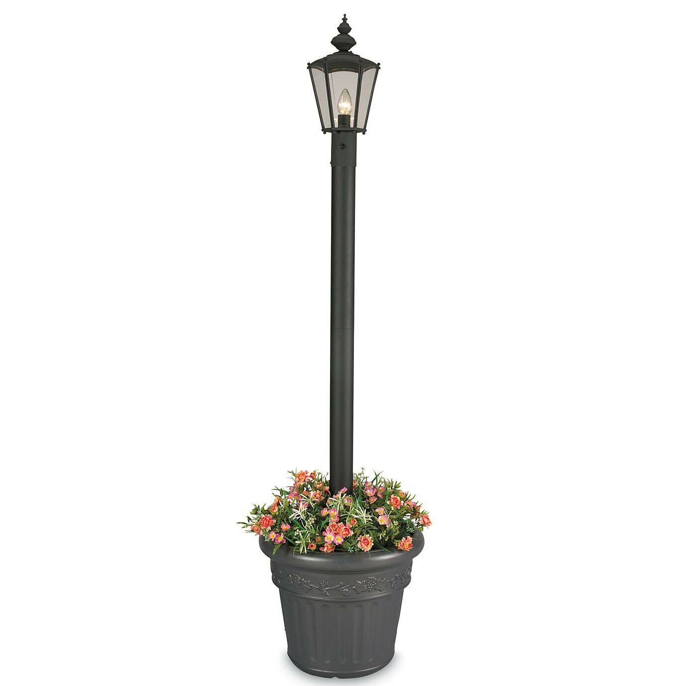 Patio living concepts cambridge 1 light 80 outdoor post for Outdoor lighting concepts