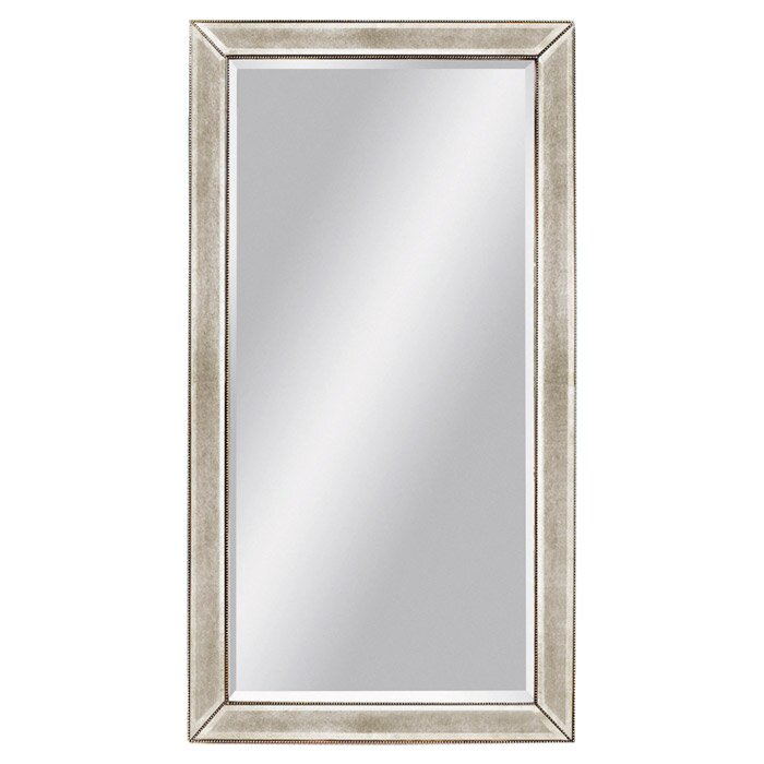 brayden studio monier beaded leaner mirror reviews wayfair