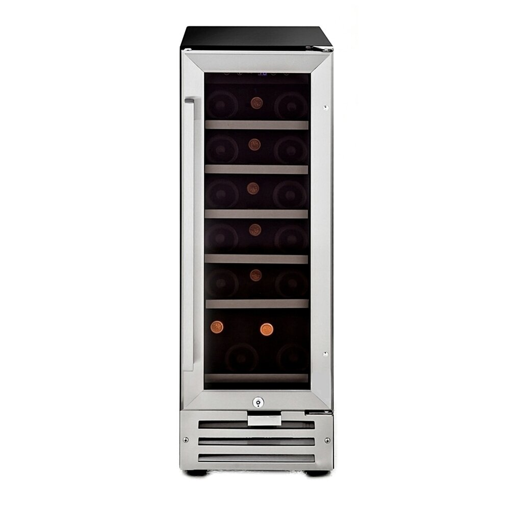 Whynter 18 Bottle Single Zone Built In Wine Refrigerator