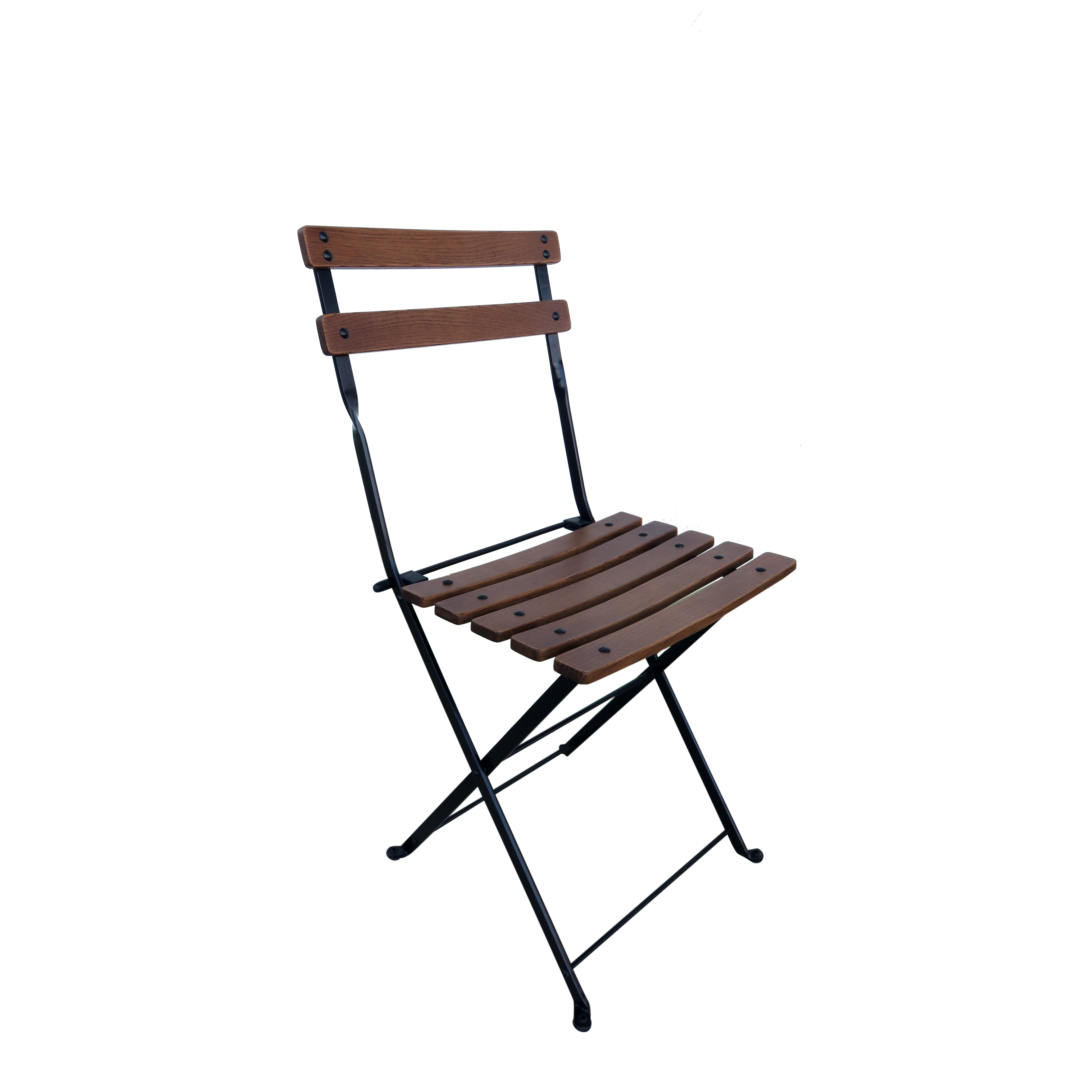Furniture Designhouse French Café Bistro Folding Side Chair & Reviews
