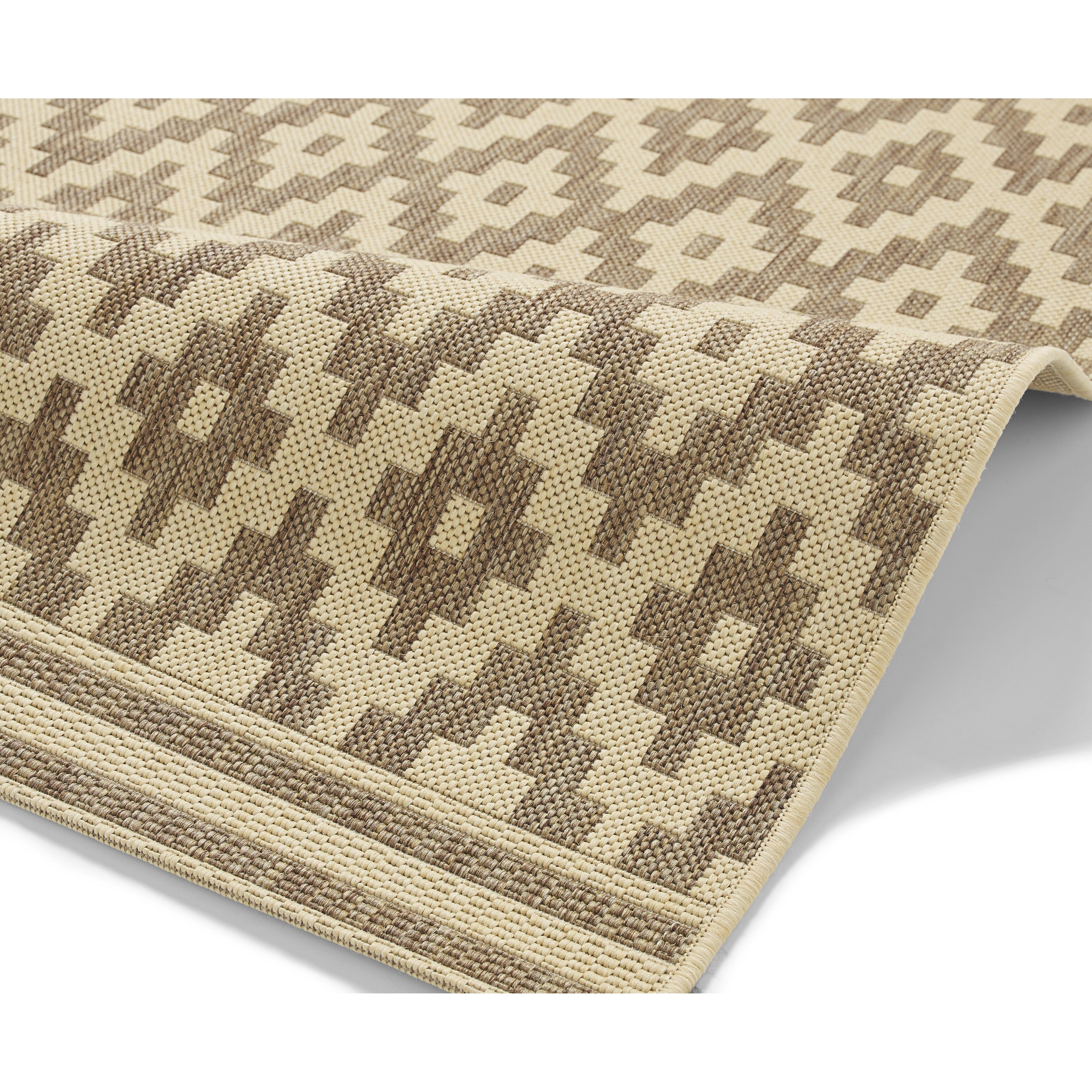 think rugs teppich cottage in beige. Black Bedroom Furniture Sets. Home Design Ideas