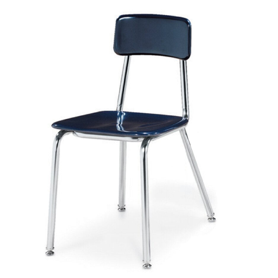 "Virco 3300 Series 18"" Plastic Classroom Chair"