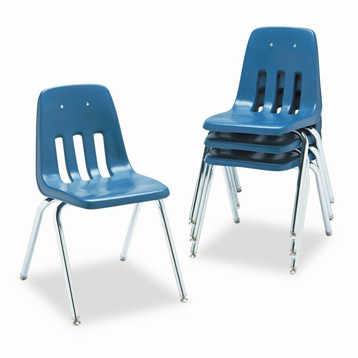 Virco 9000 Series Plastic Classroom Chair Reviews Wayfair