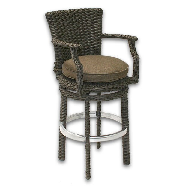 Patio Heaven Palisades Bar Stool with Cushion Wayfair : Patio Heaven Palisades Bar Stool with Cushion from www.wayfair.com size 620 x 620 jpeg 49kB