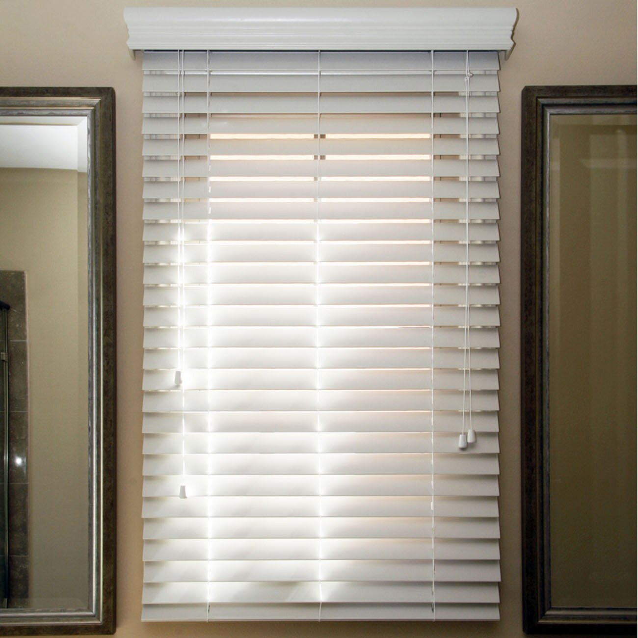 Chicology Faux Wood Venetian Blind Reviews Wayfair