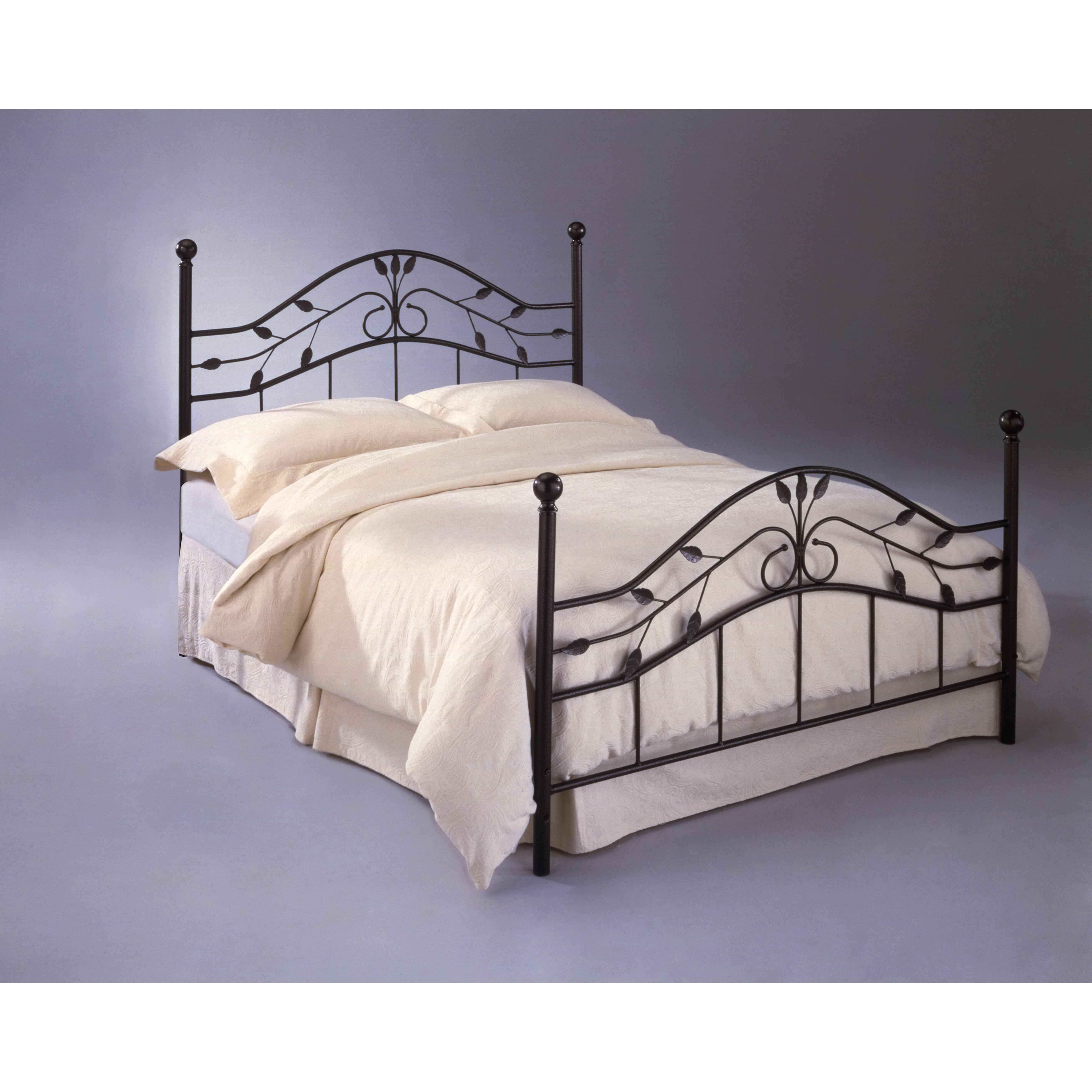 Fashion bed group sycamore metal headboard reviews wayfair Headboard with pictures