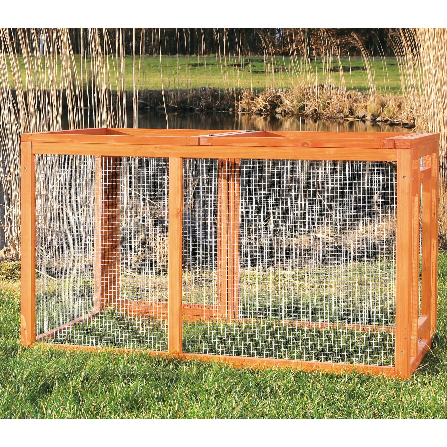 Trixie Trixie Outdoor Chicken Run With Mesh Cover