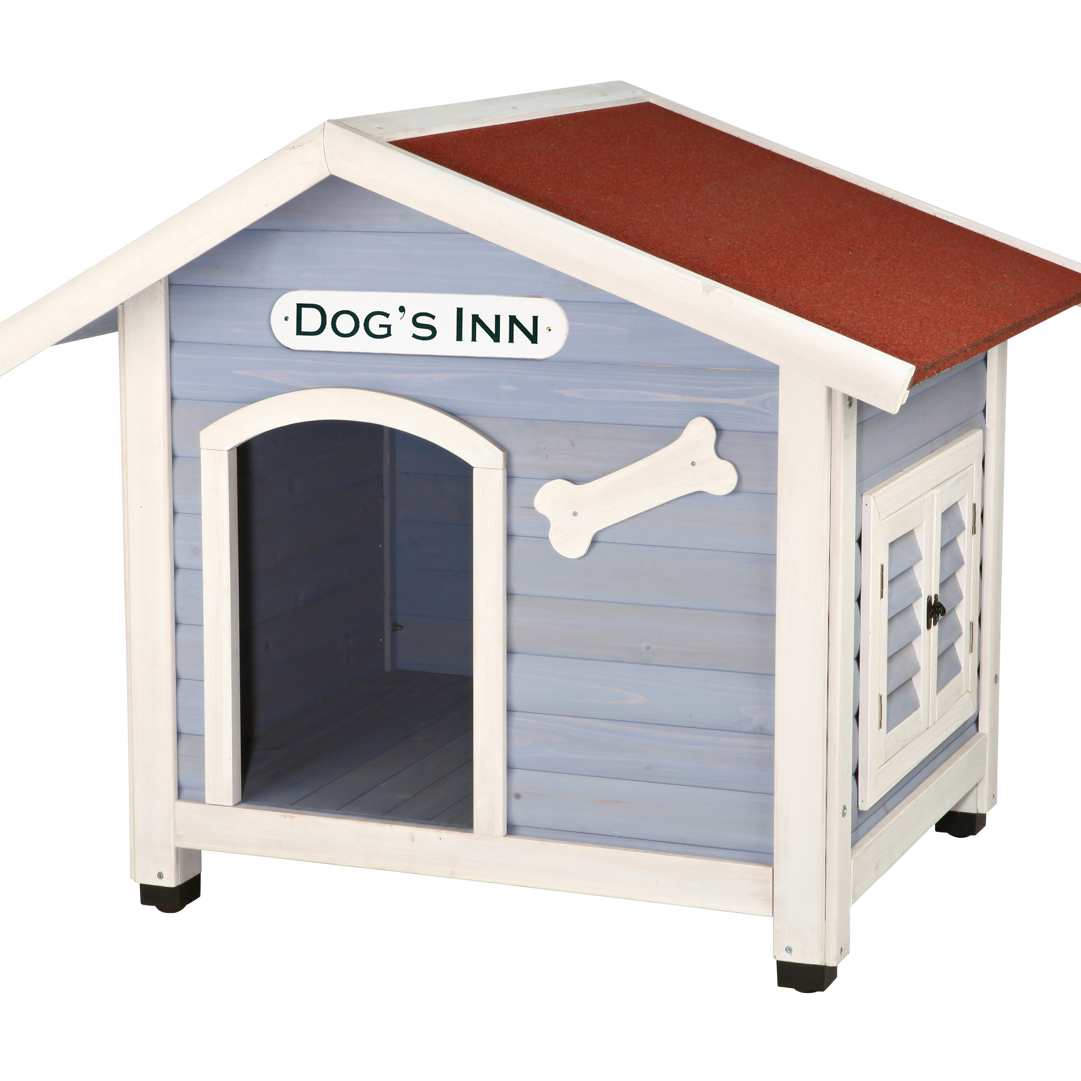 Trixie dog 39 s inn dog house reviews wayfair for Caseta perro bricodepot